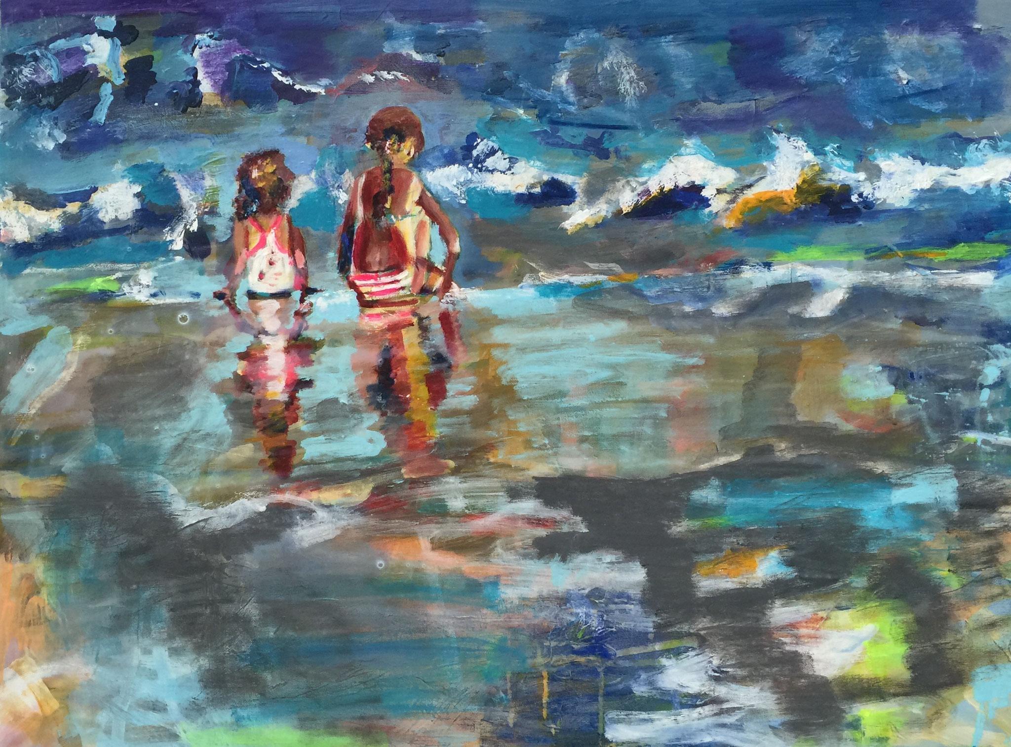 Wasser 6, 60x80  acrylic on canvas