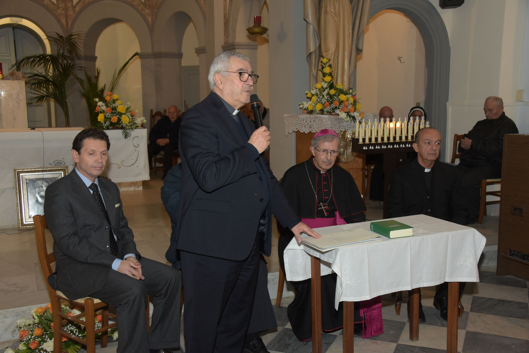Giuramento dei membri della Comissione della Causa di Beatificazione