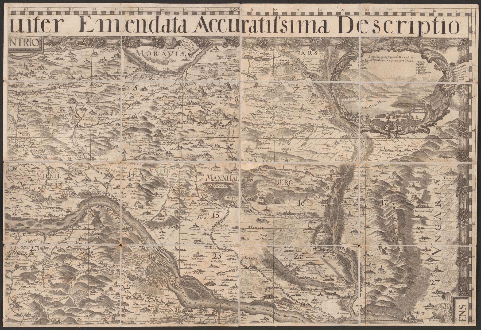 Das Weinviertel anno 1697