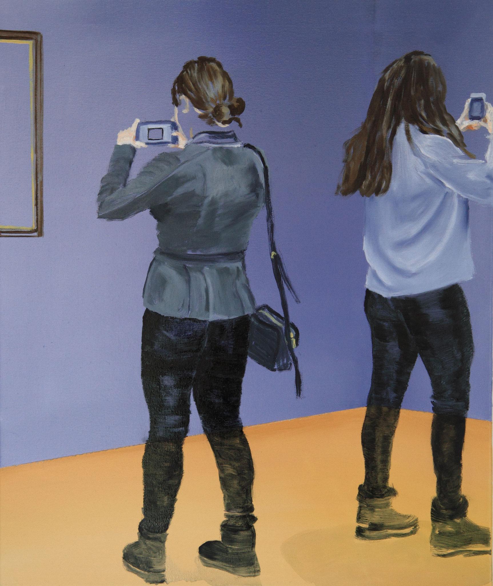 smart girls, 60x50 cm Öl/Acryl auf LW 2019