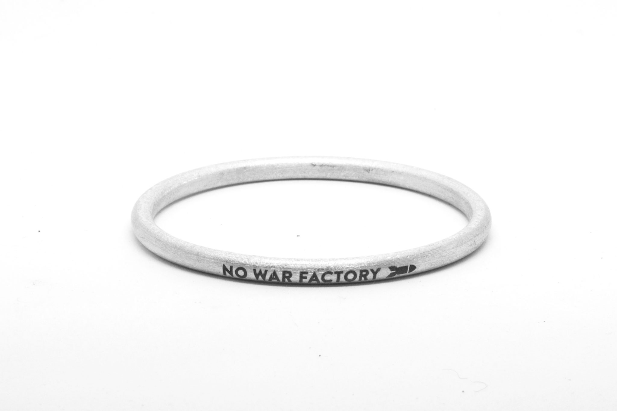 No War Factory Bangle 2018