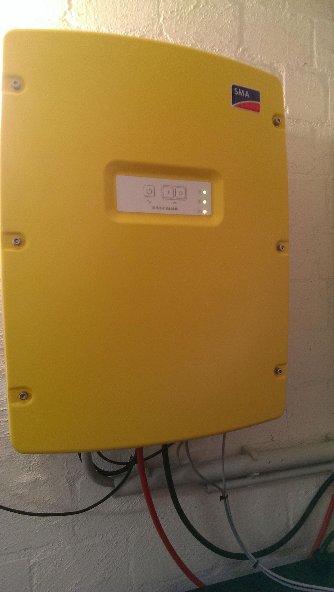 SMA Batteriewechselrichter Sunna Island SI 6.0H