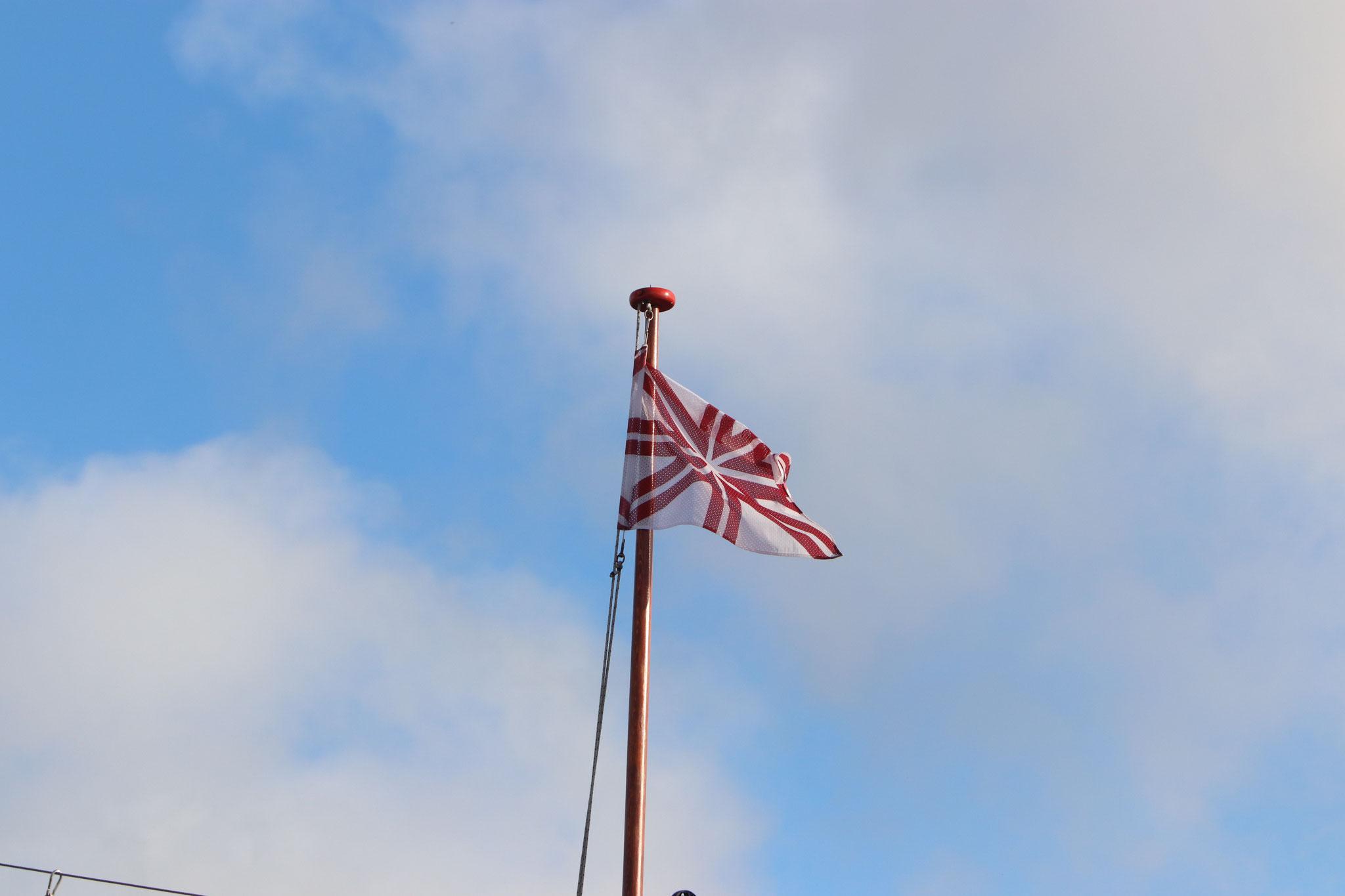 """""""Rūsiņa"""" karogs plīv zilajās Vismāras debesīs"""