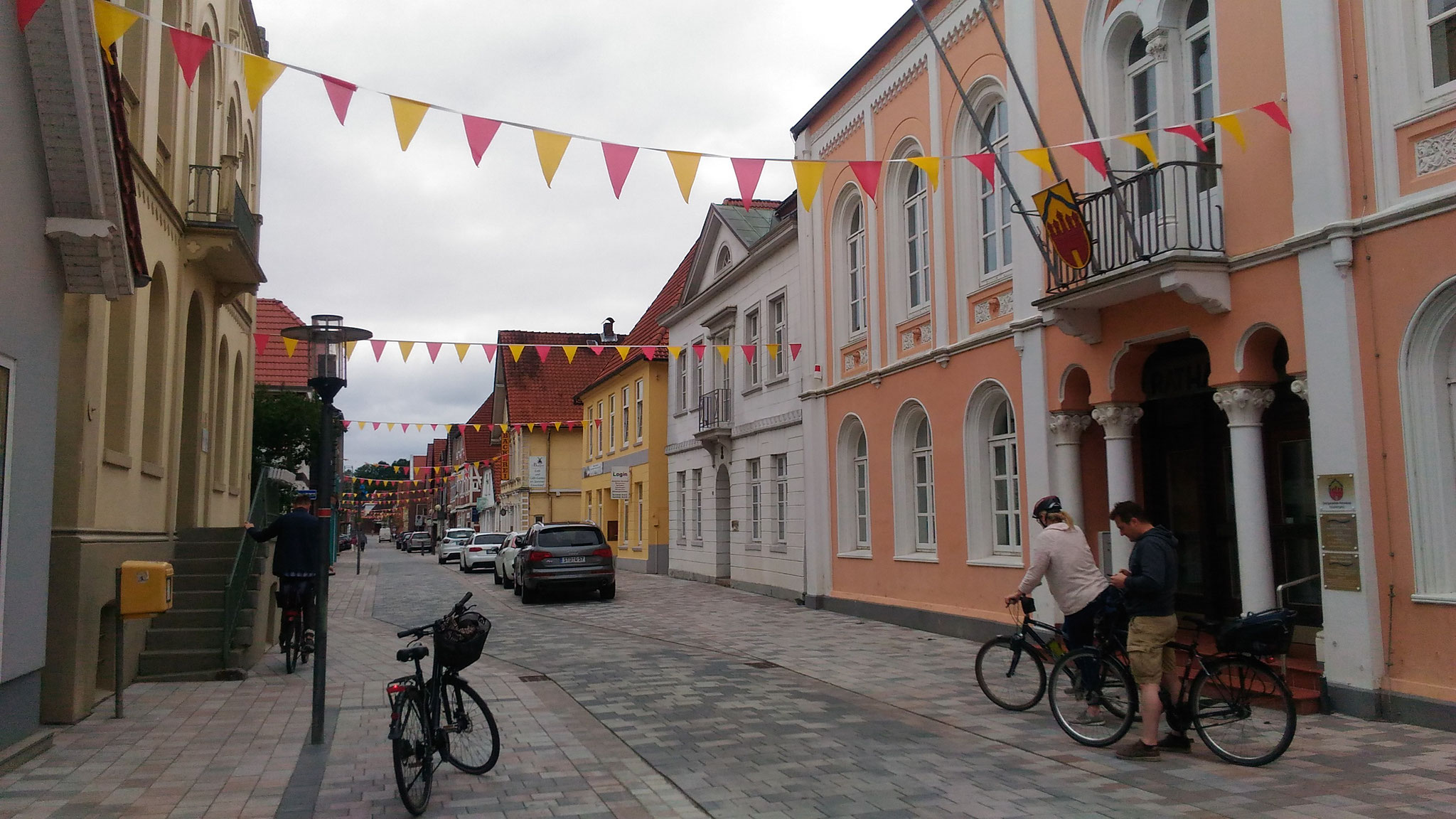 Horneburga - tukša un klusa