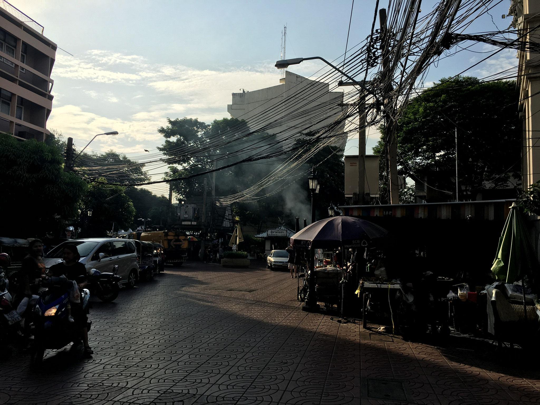 Straßen von Bangkok