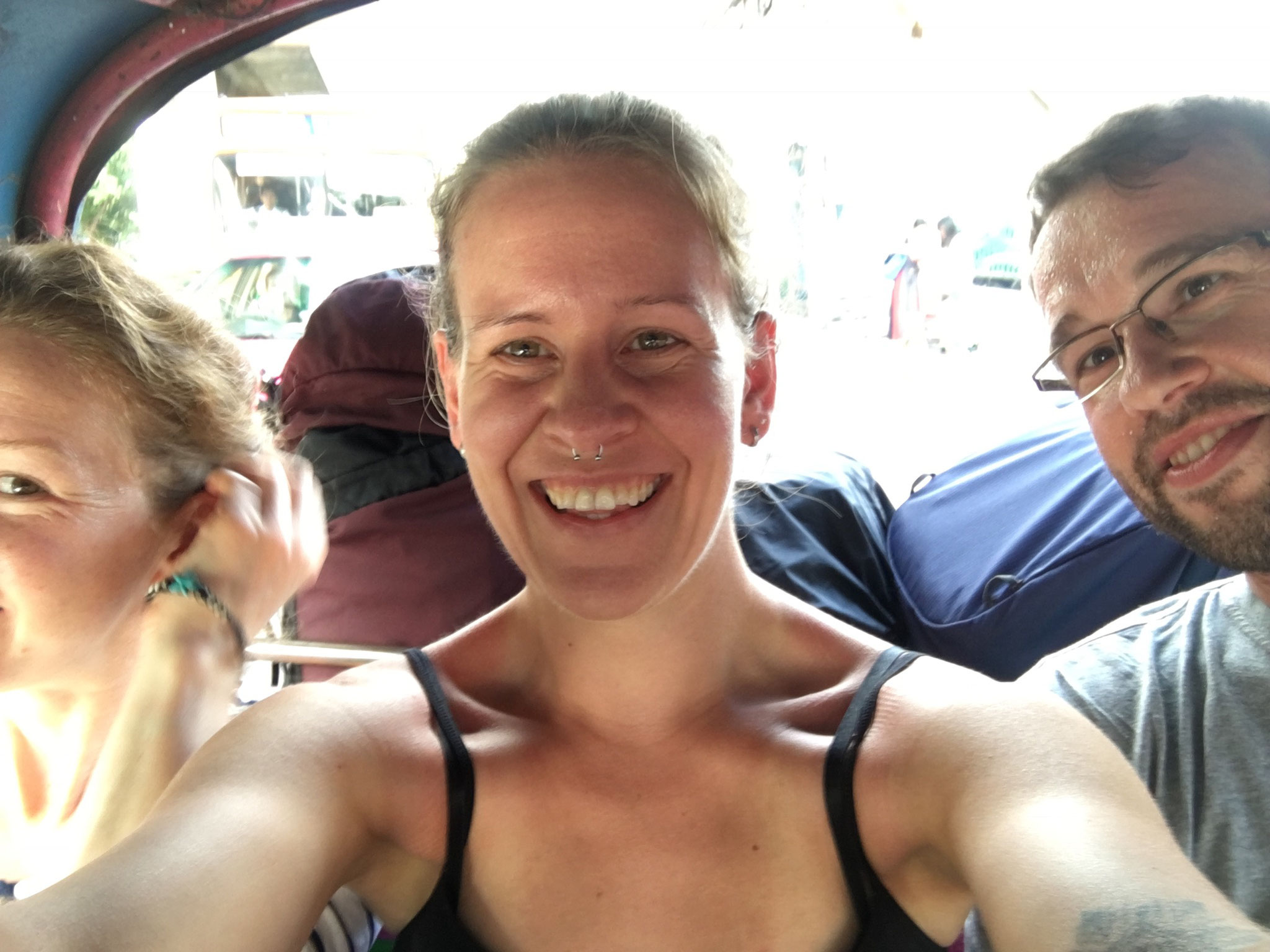 Crazy TukTuk Tour durch BKK