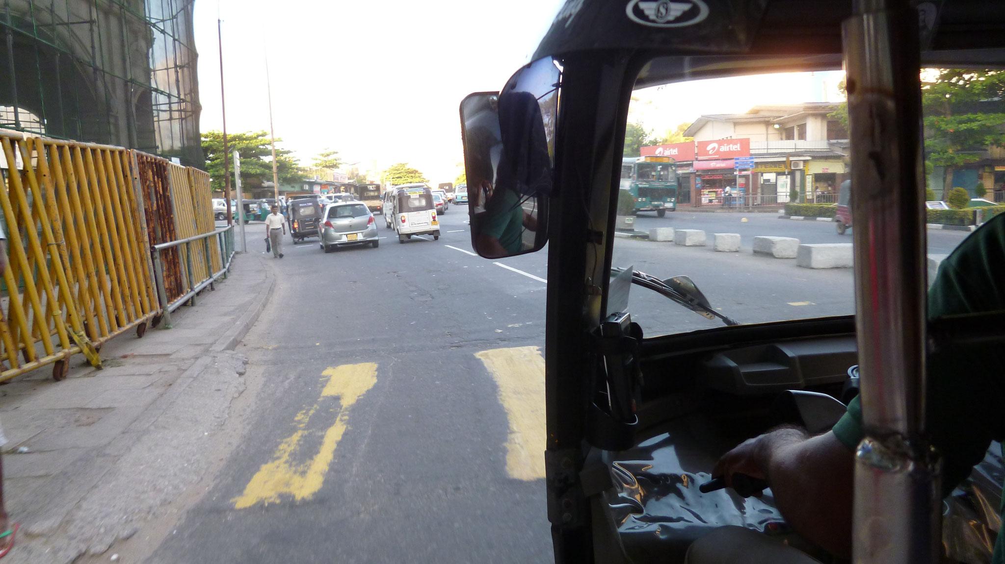 In den Straßen von Colombo