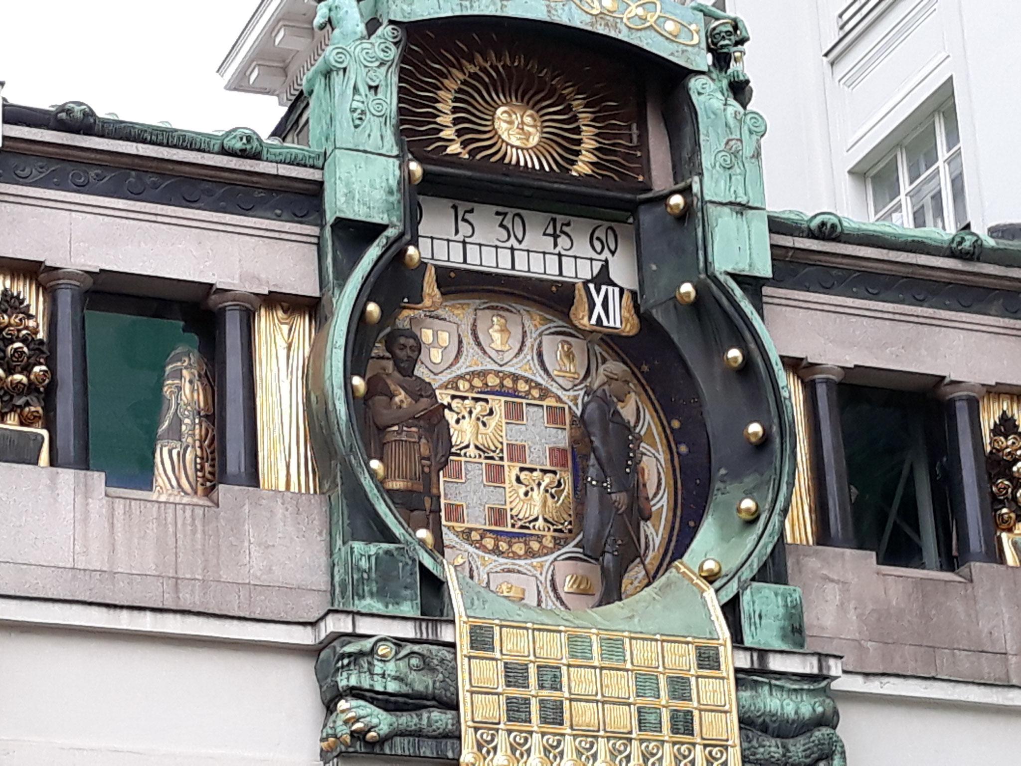 Anker Uhr Wien - Marc Aurel