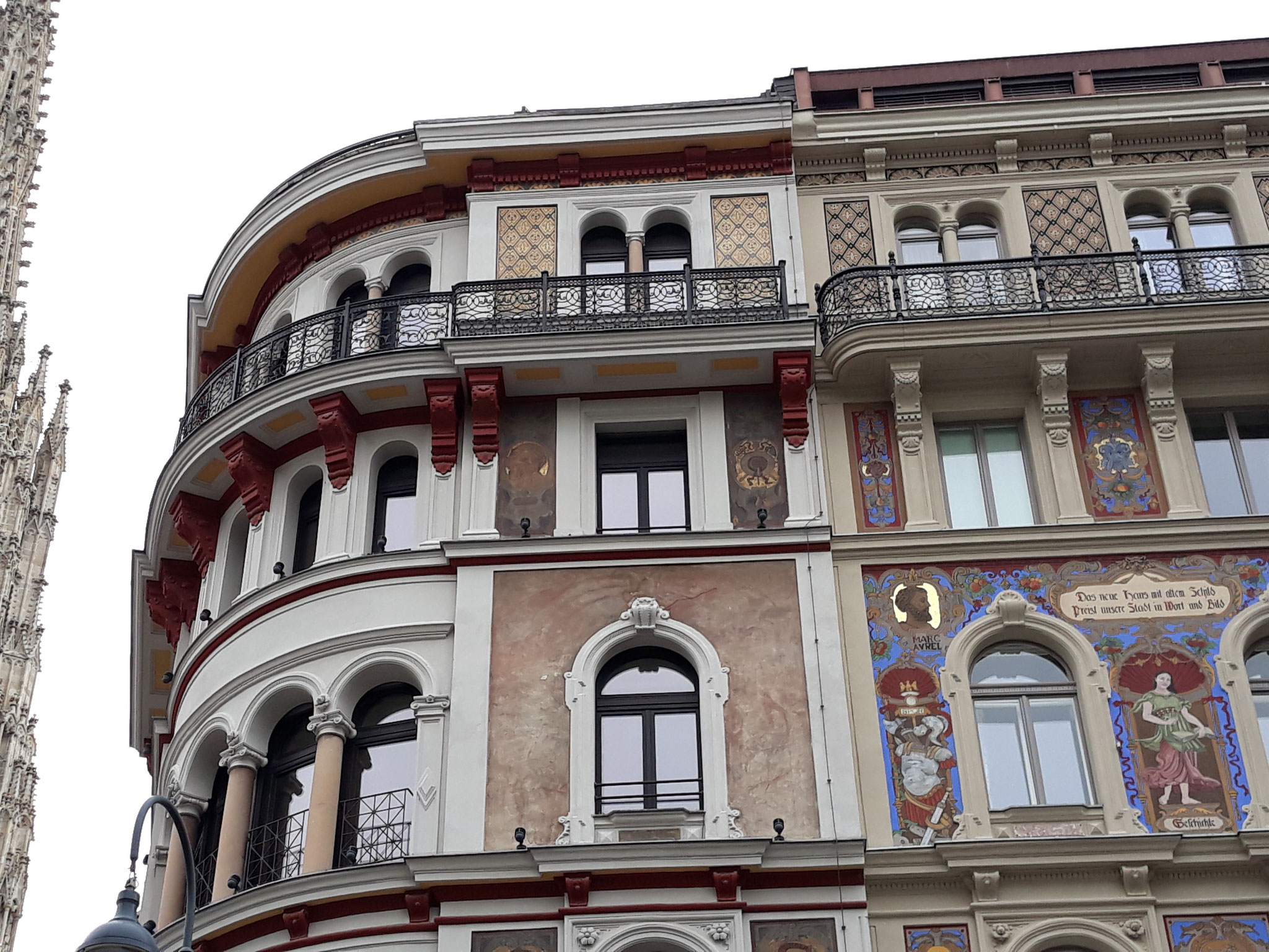 Vienna-Stock im Eisen Platz-Marc Aurel