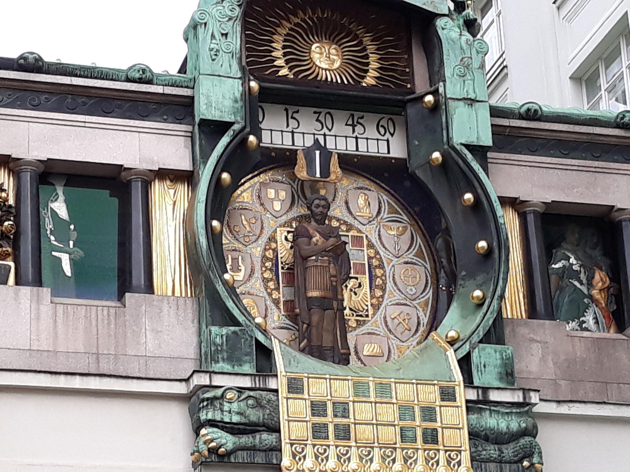 Wien Anker Uhr - Marc Aurel