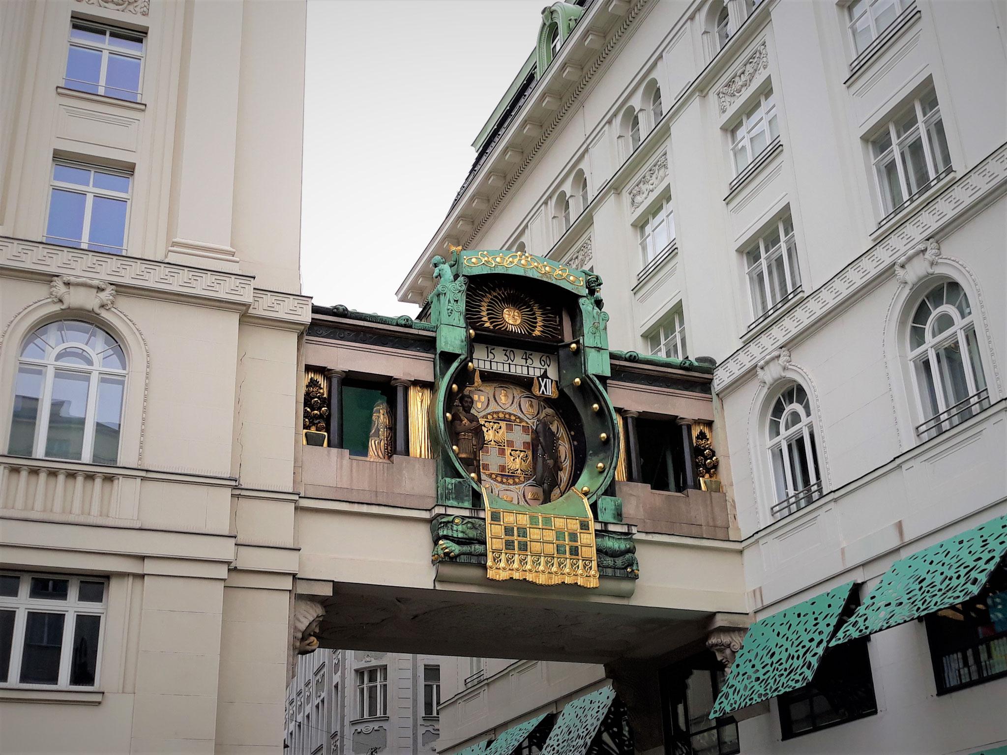 Marc Aurel -Anker Uhr Wien