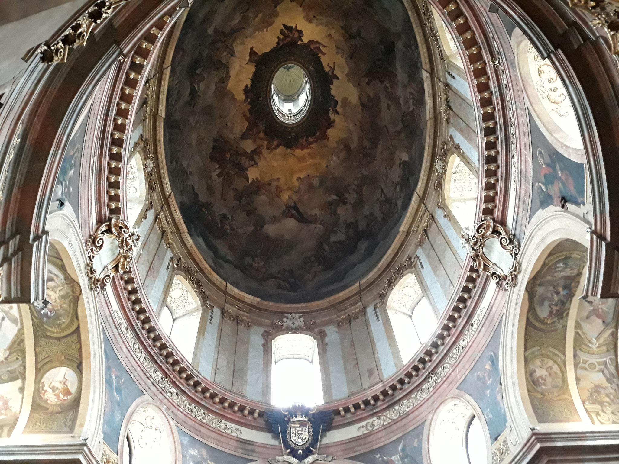 Kuppelfresko in Peterskirche