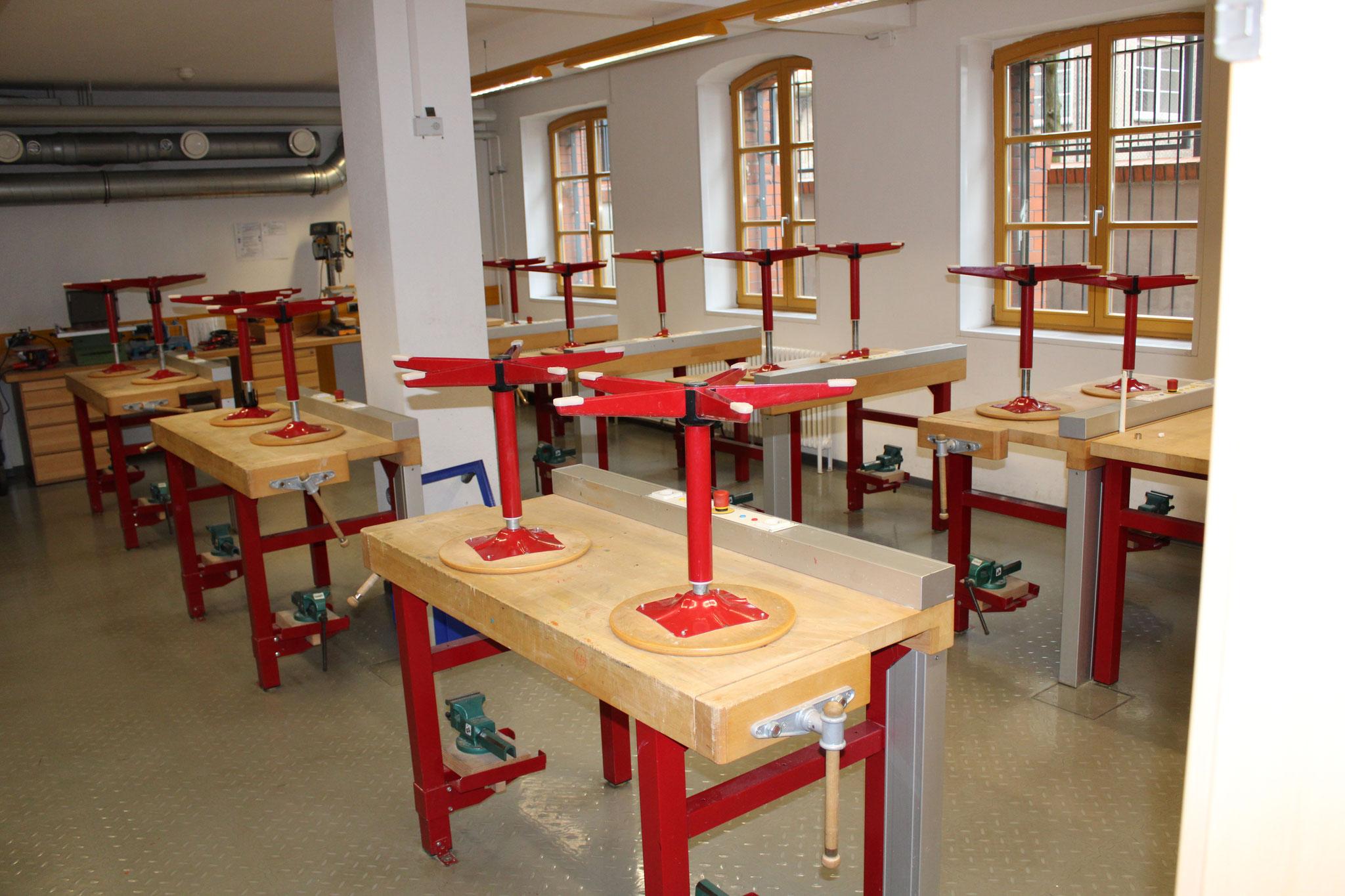 Raum für kleine Handwerker