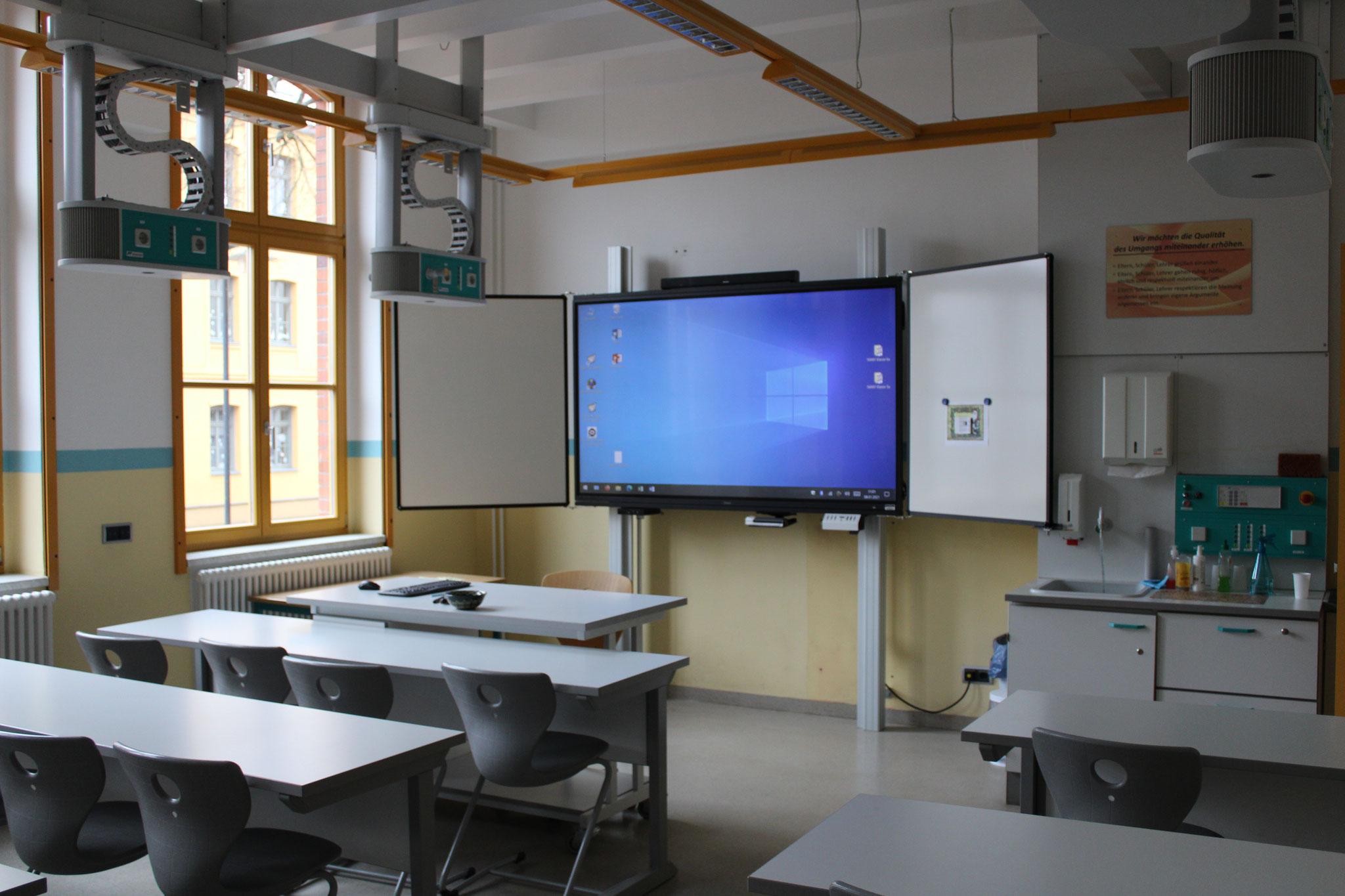 WAT- Raum mit elektronischer Tafel