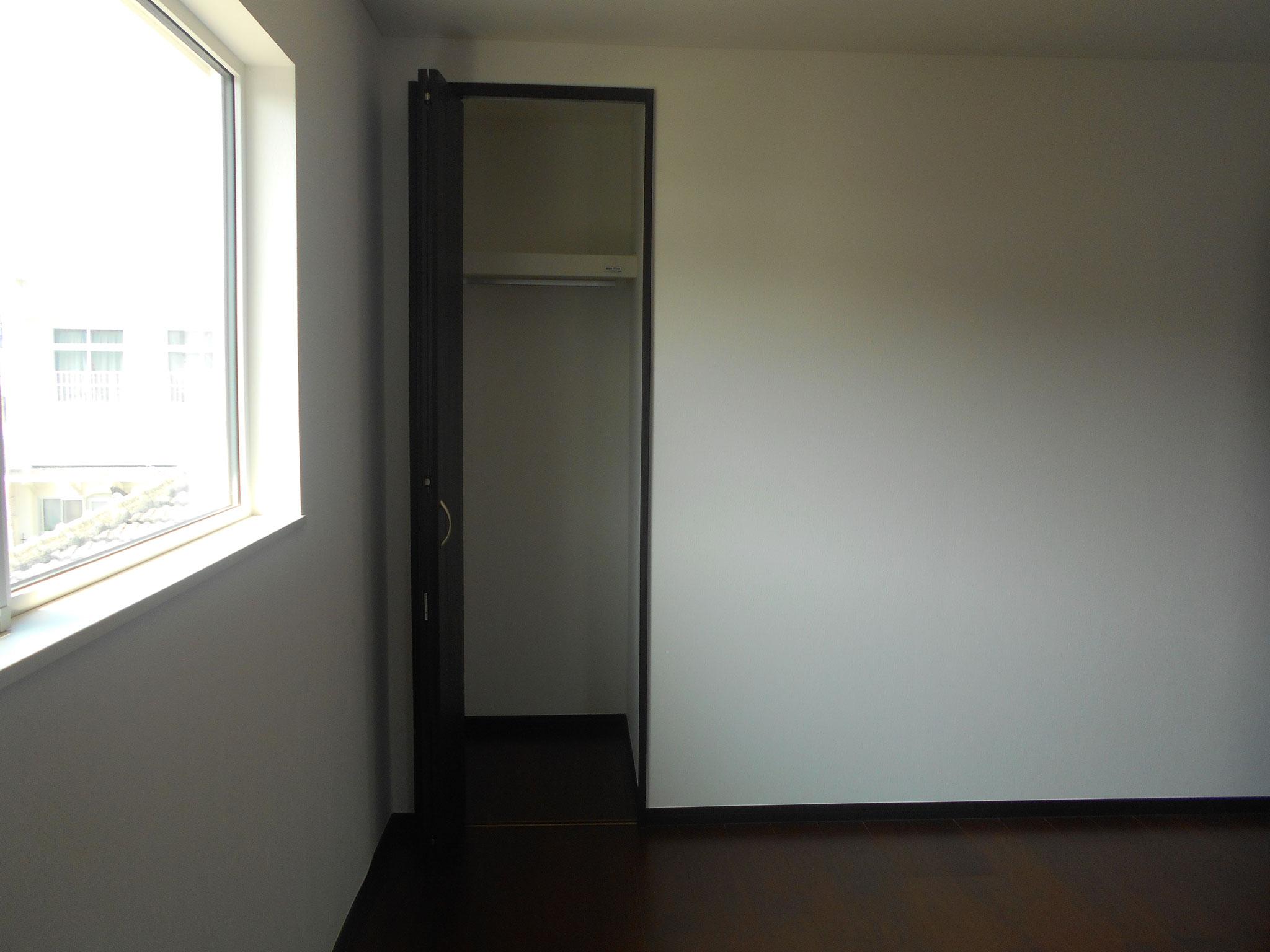 主寝室 クローゼット2カ所