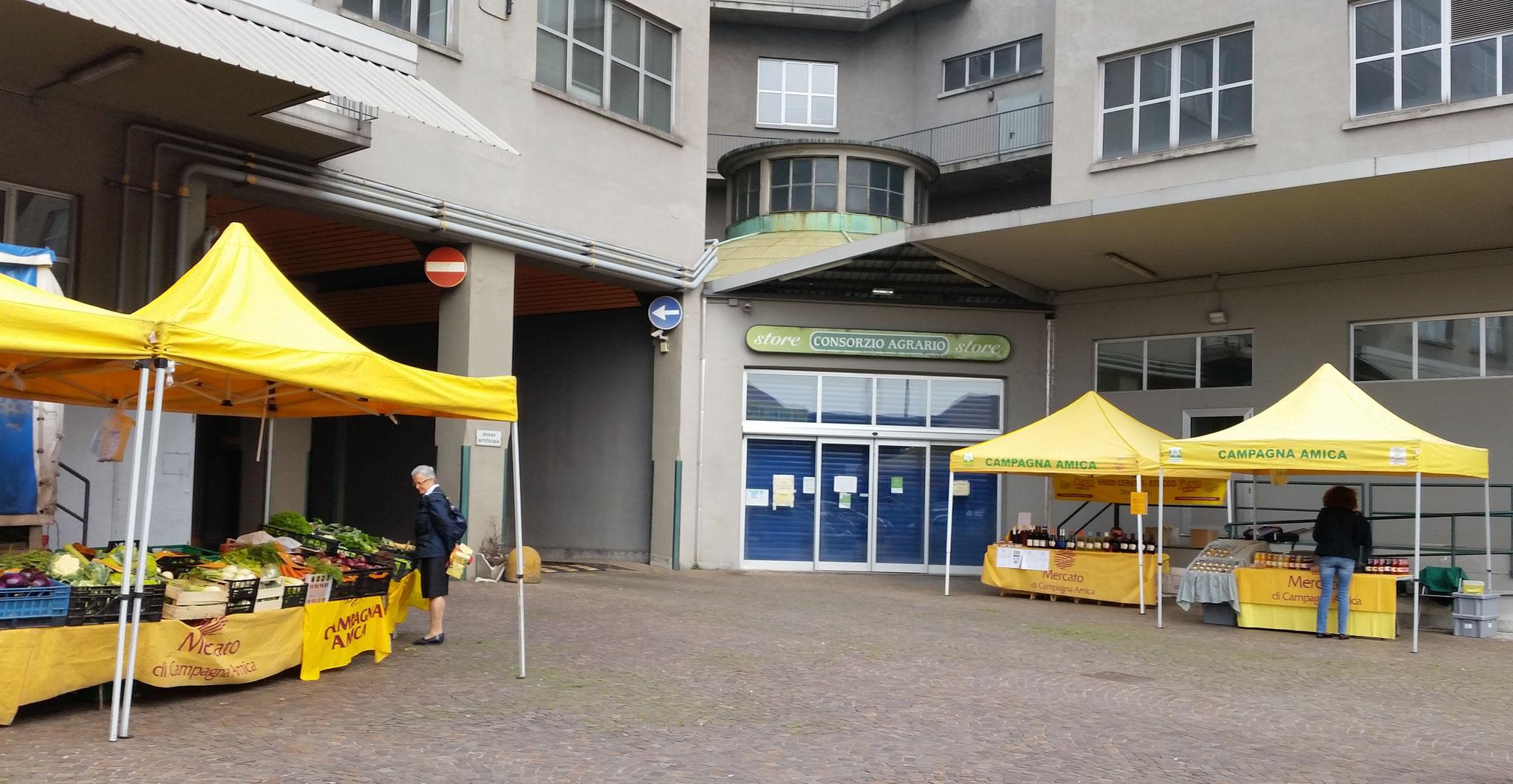 mercato a filiera corta Via Ripamonti