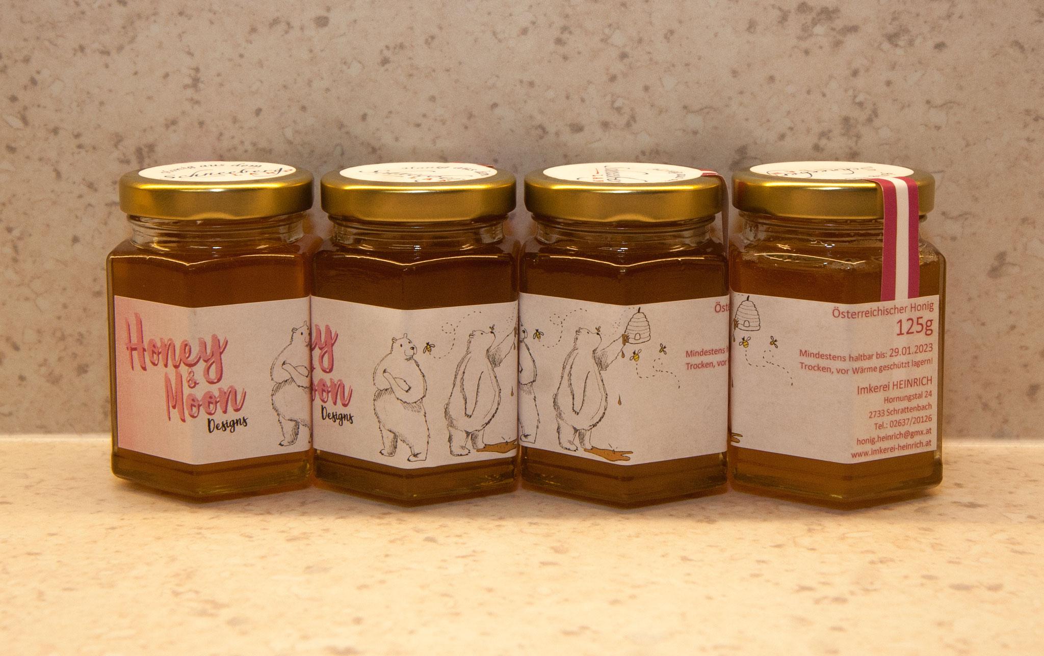 Imkerei HEINRICH - Sonderabfüllung für HoneyandMoonDesigns