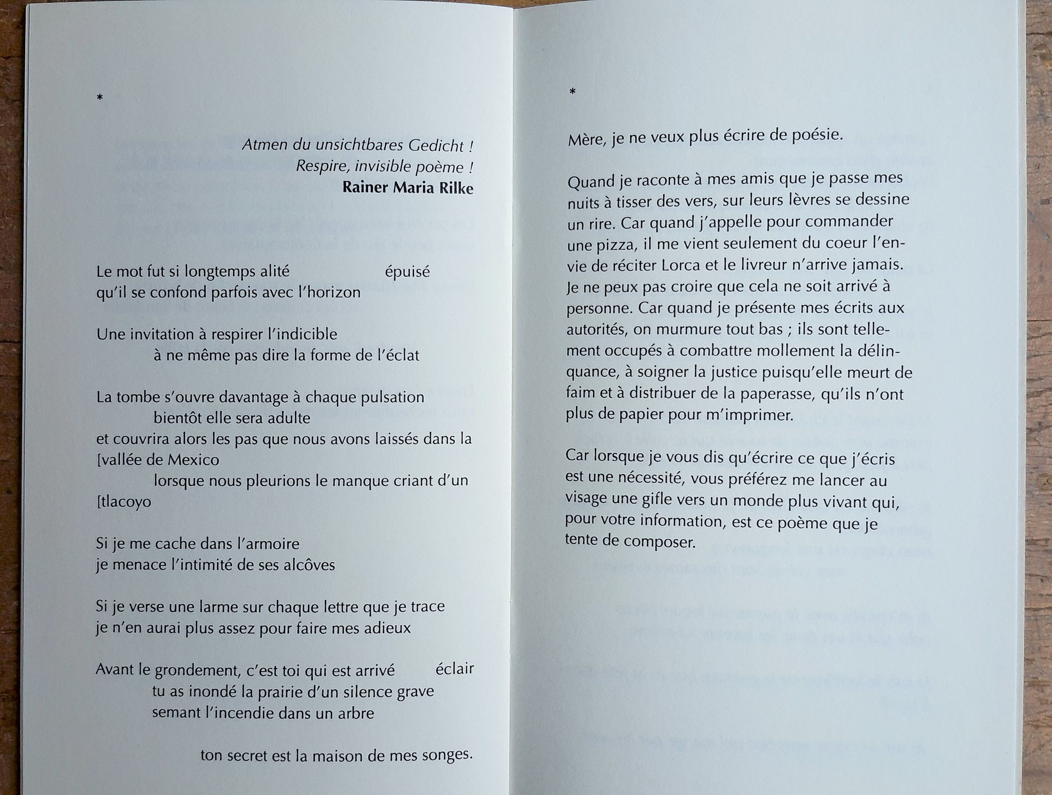 Poèmes très tard / Bruno Dario