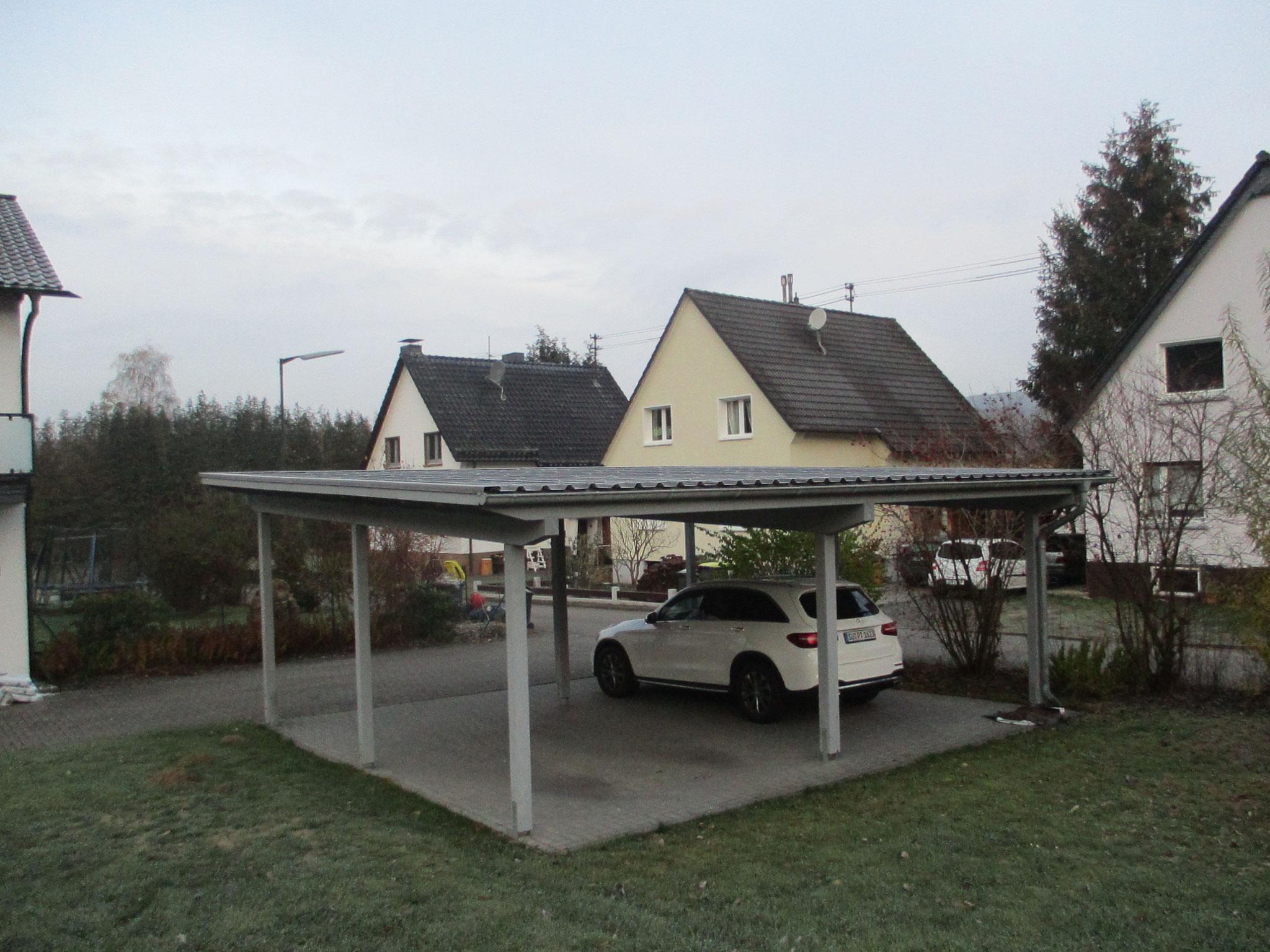 Doppelcarport in Dattenfeld