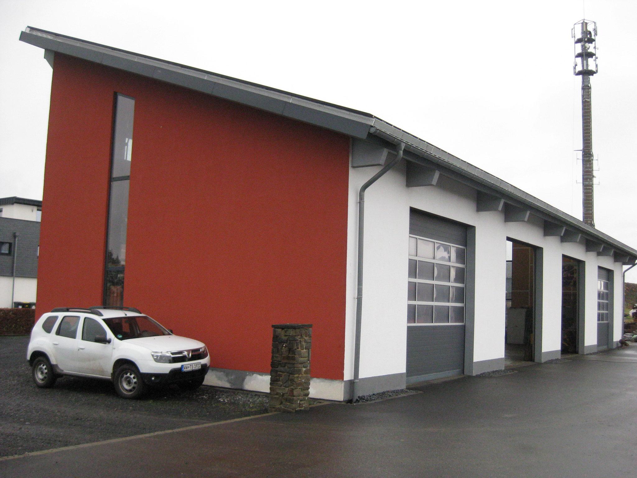 Gartenbau Daimling: Halle in Holzrahmenbauweise