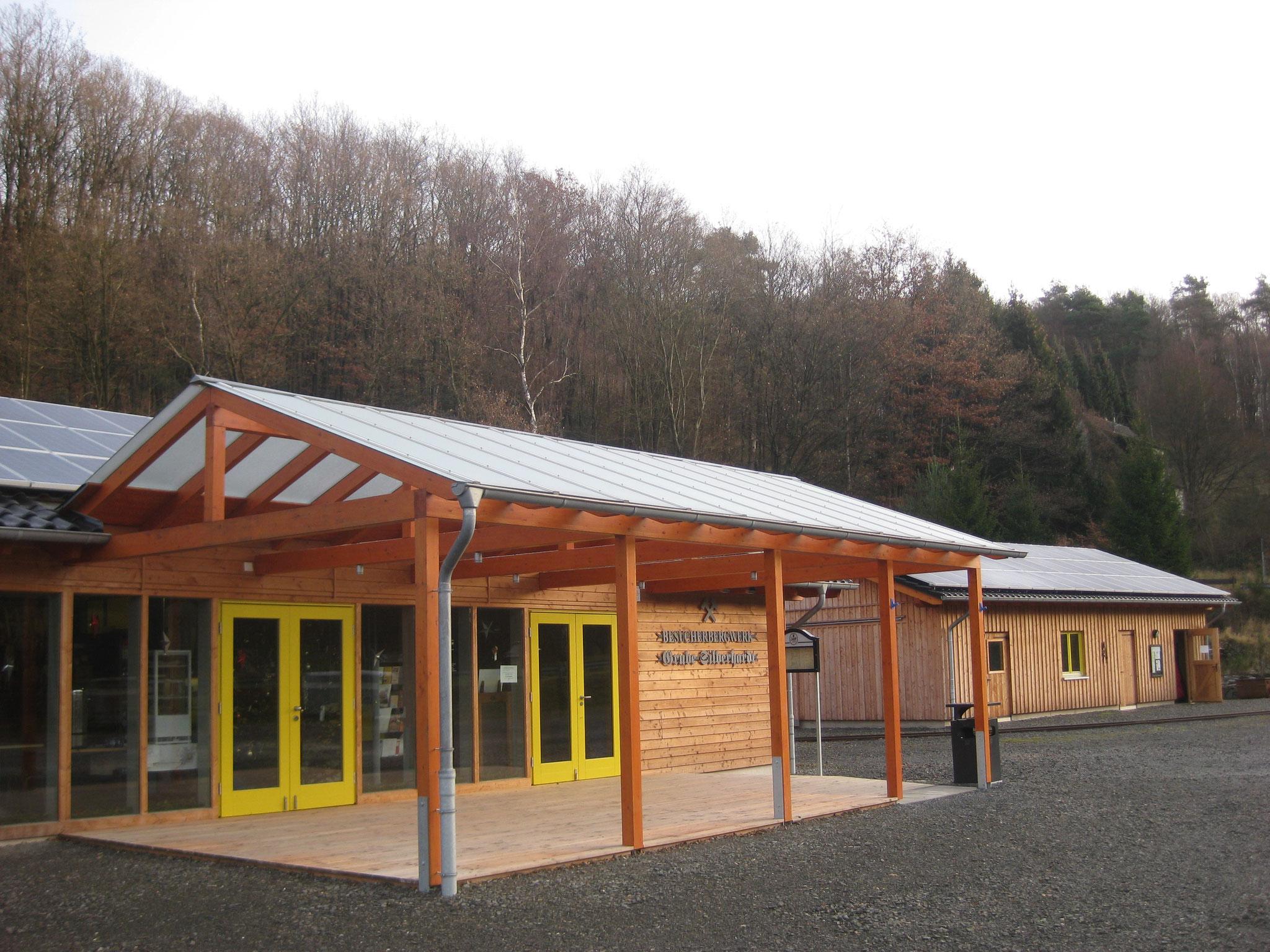 Grube Silberhardt: Besucherzentrum