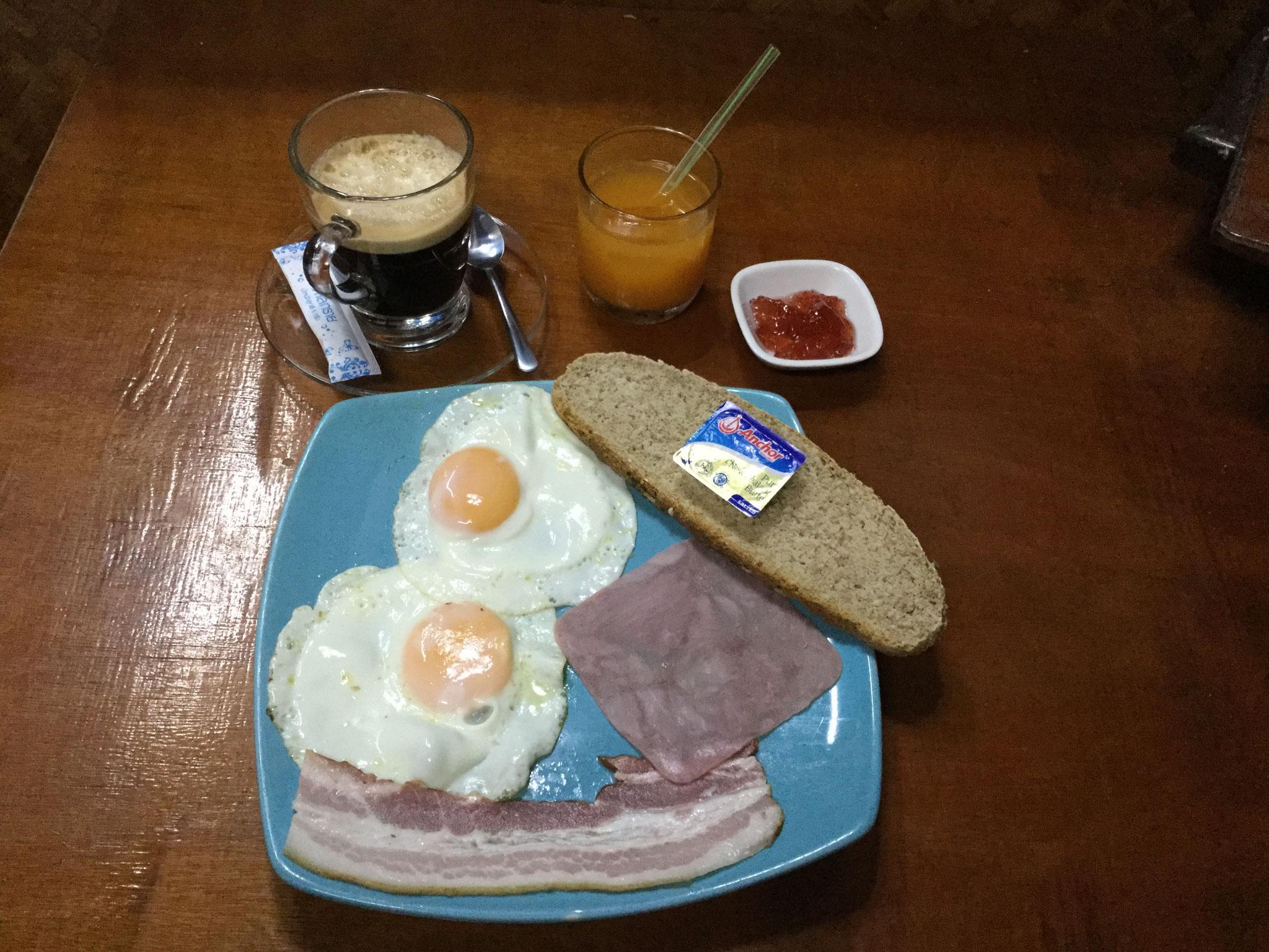 American Breakfast Home made Bread