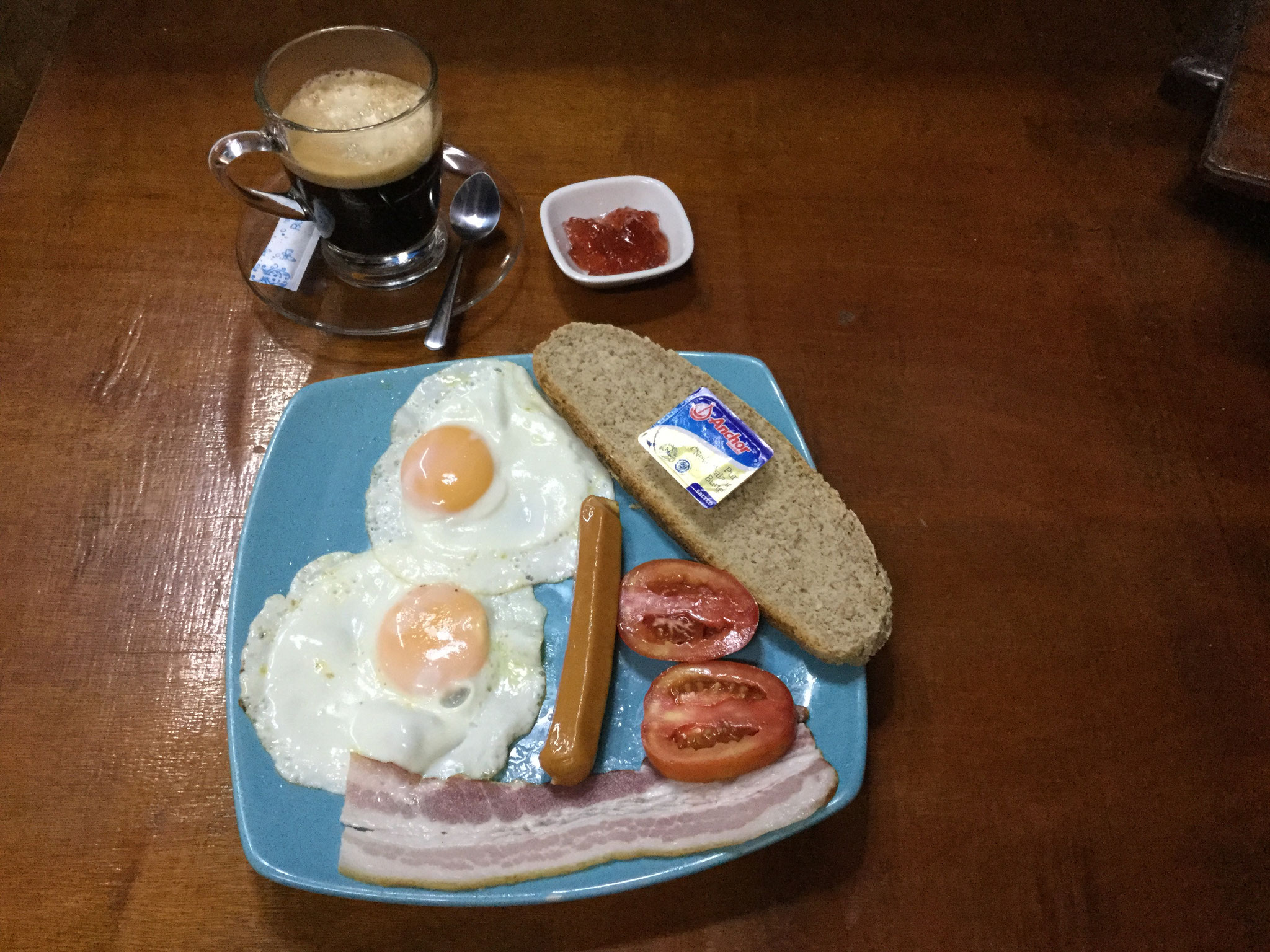 English Breakfast Home made Bread