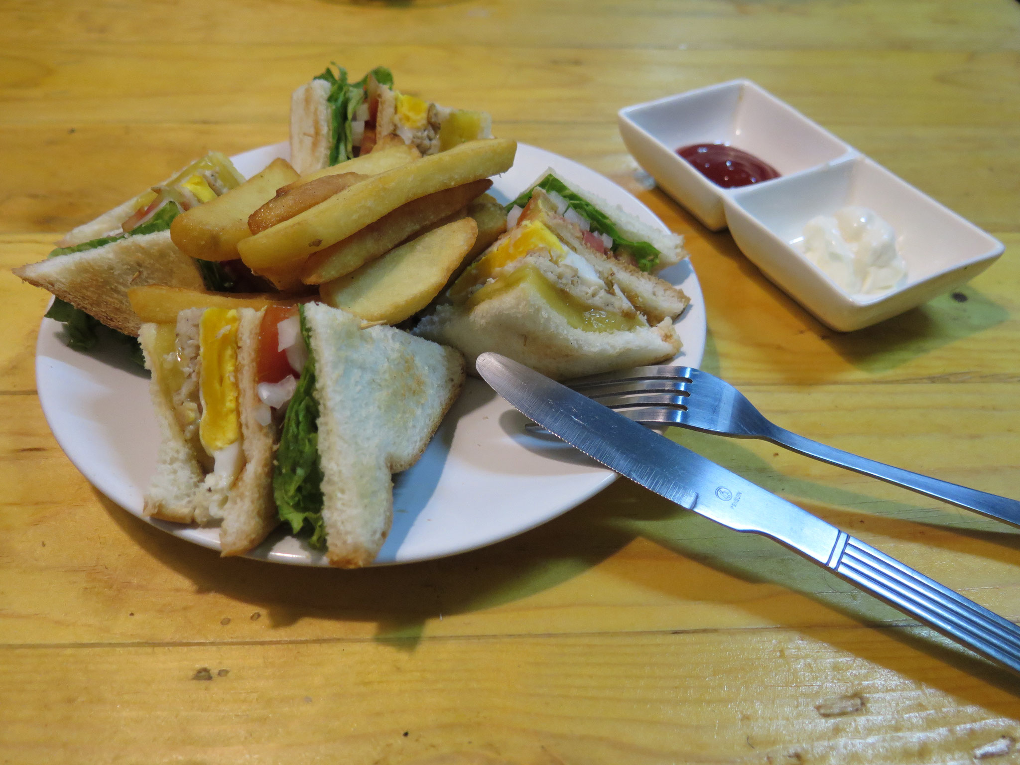 Club sandwich ckicken