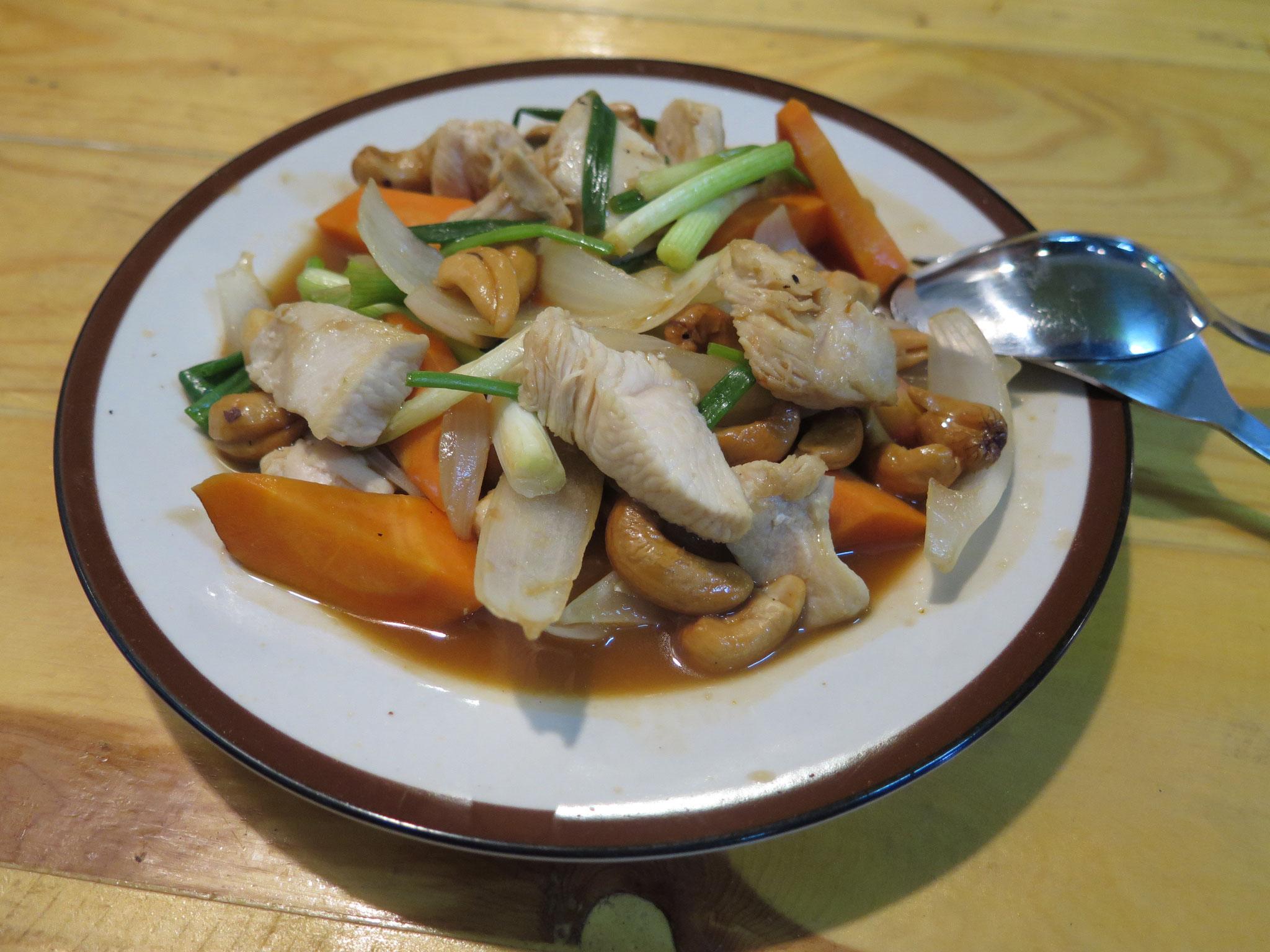 Cashew nuts with chicken