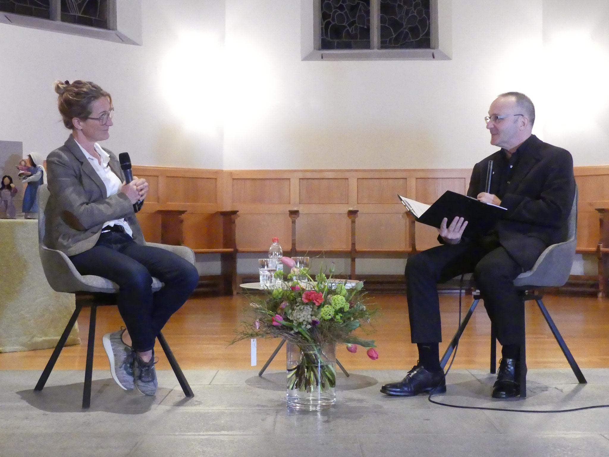 im Gespräch mit Pfarrer Heinz Brauchart