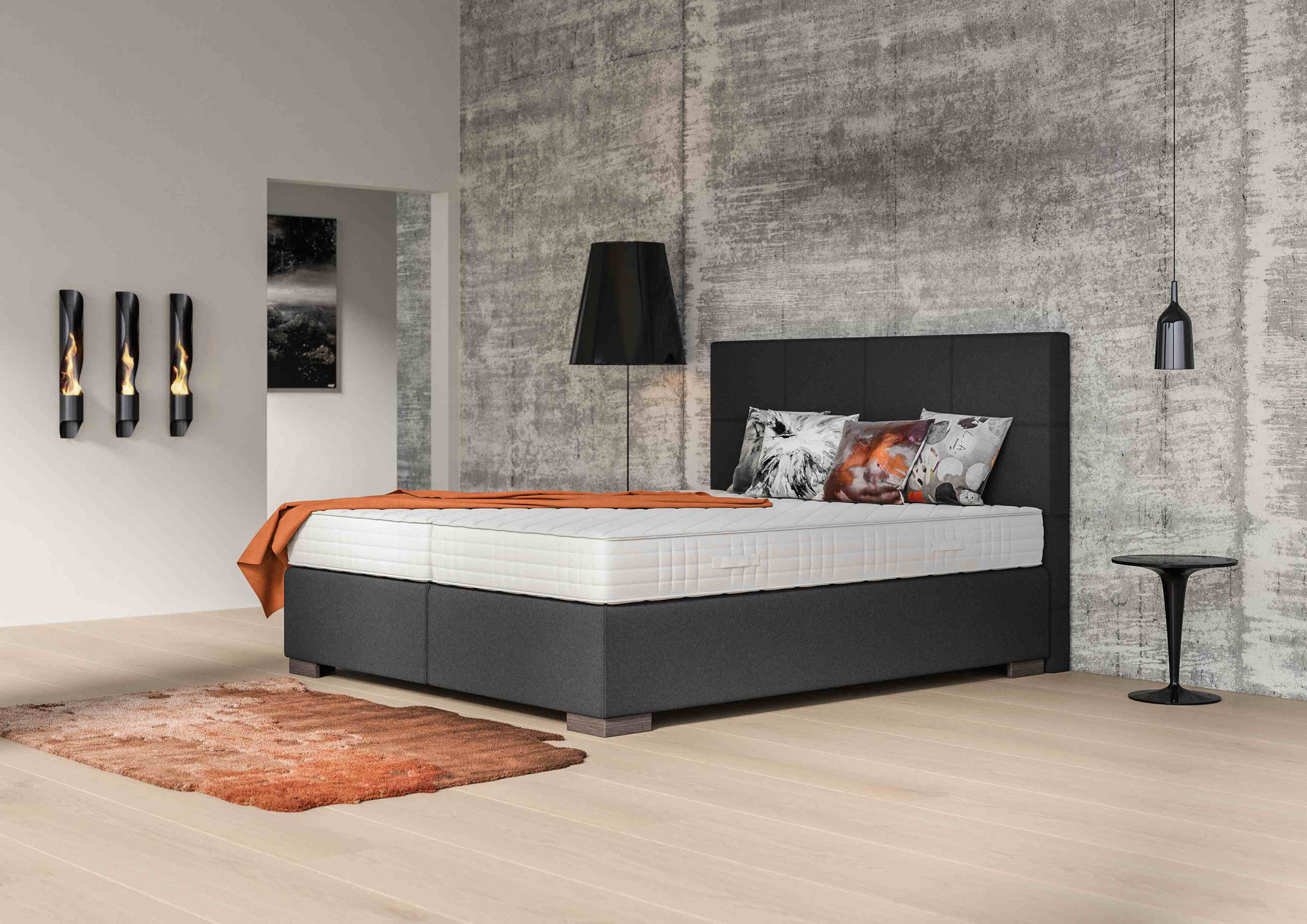 Philrouge Eos Ergo Boxspring Betten Rattan Center Ch