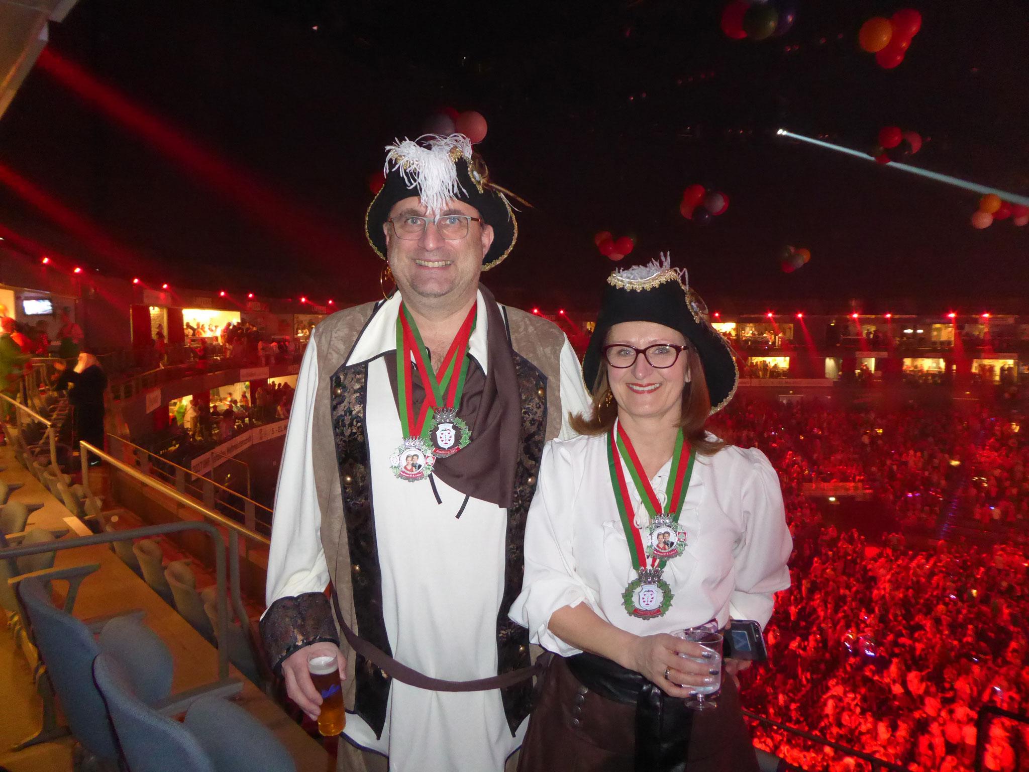 Lachende Kölnarena - Karneval 2017 in Köln