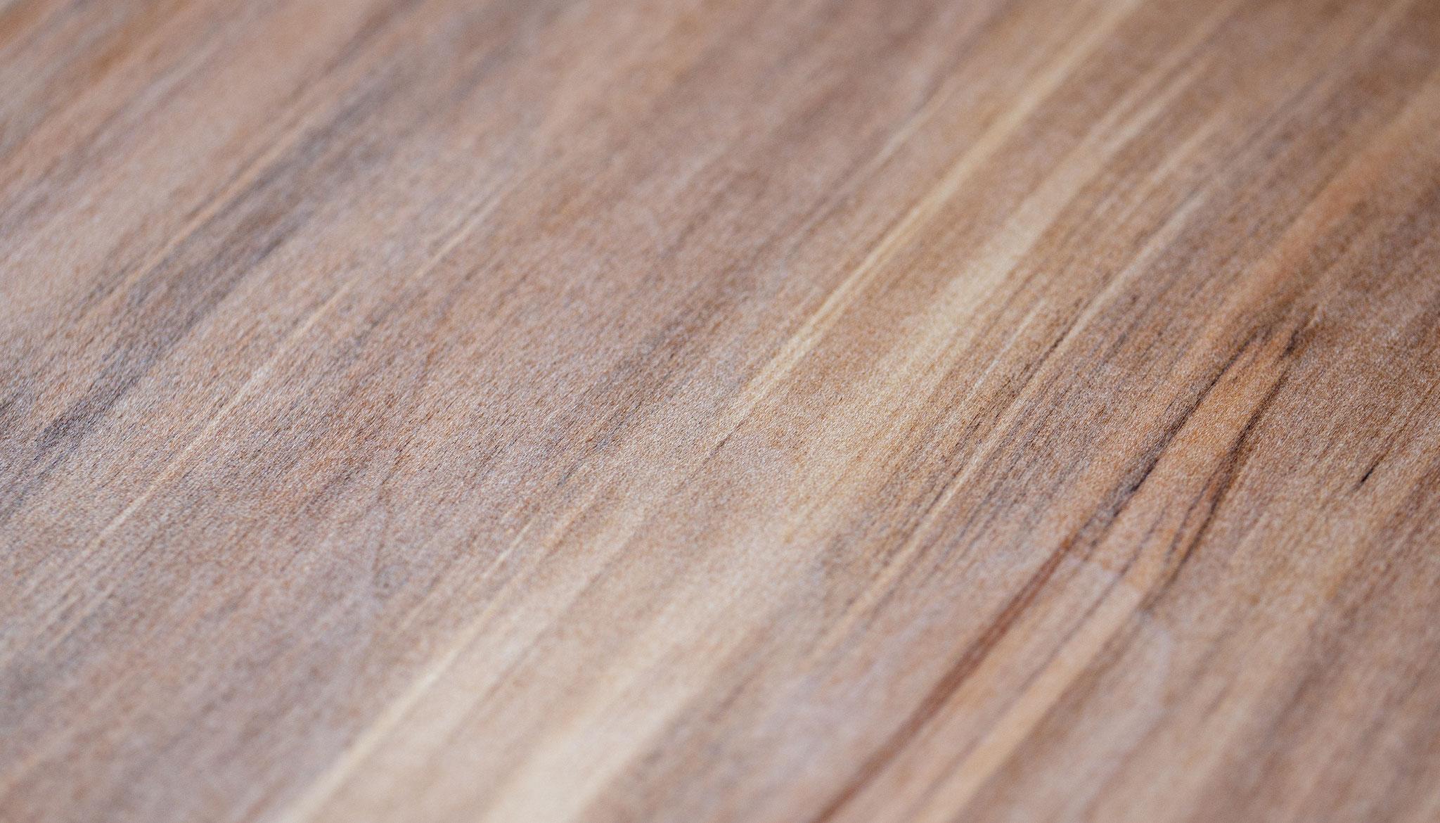 Echtholzfurniere besitzen auch einen ganz natürlichen Duft