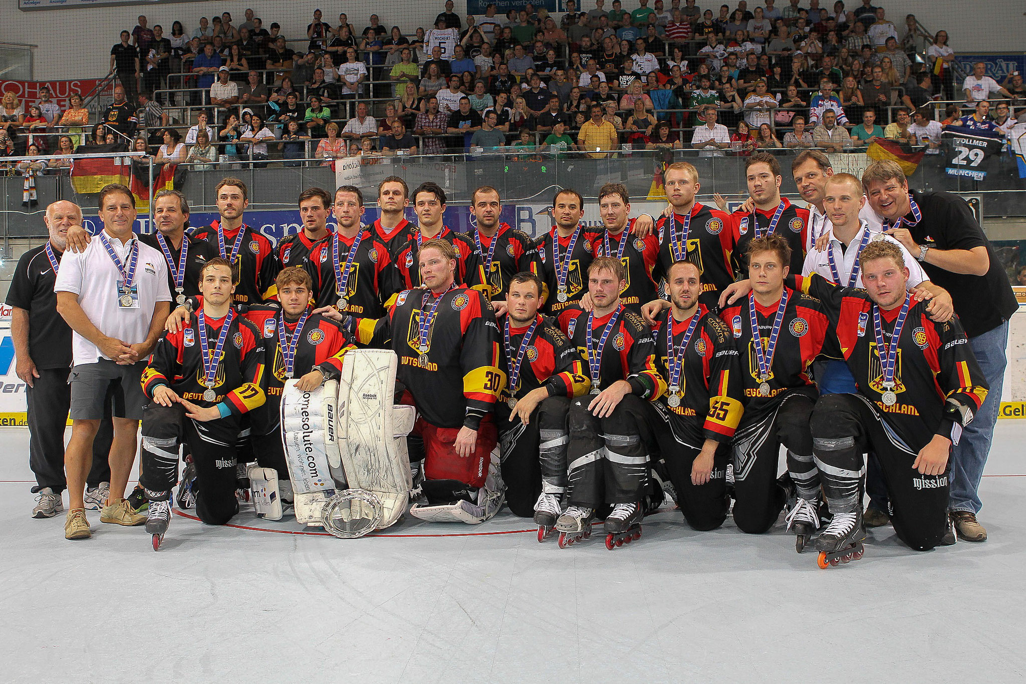 Nationalmannschaft - Inline Hockey WM 2012