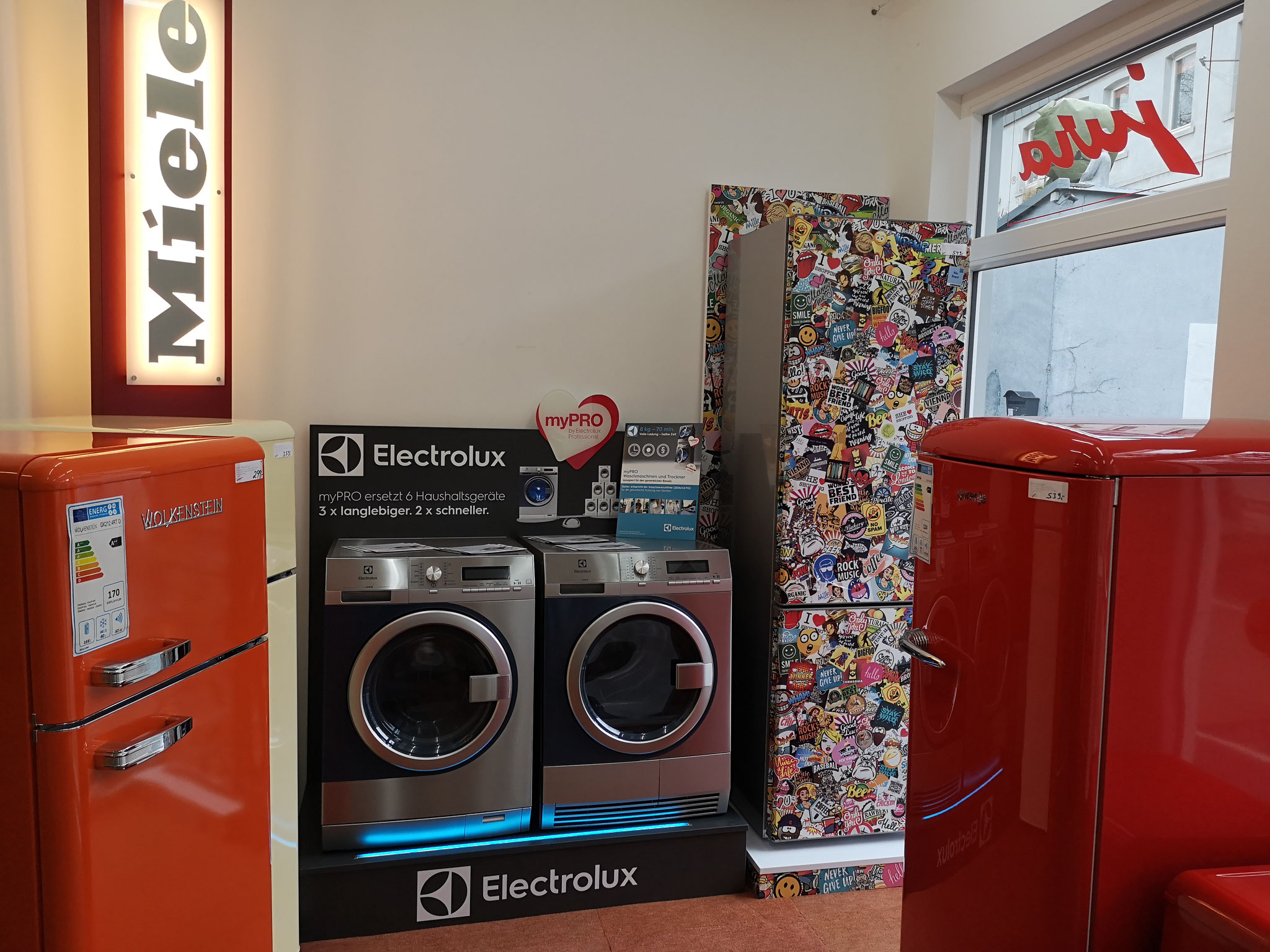 Professional Waschmaschinen bei HGS Elektro in Köln