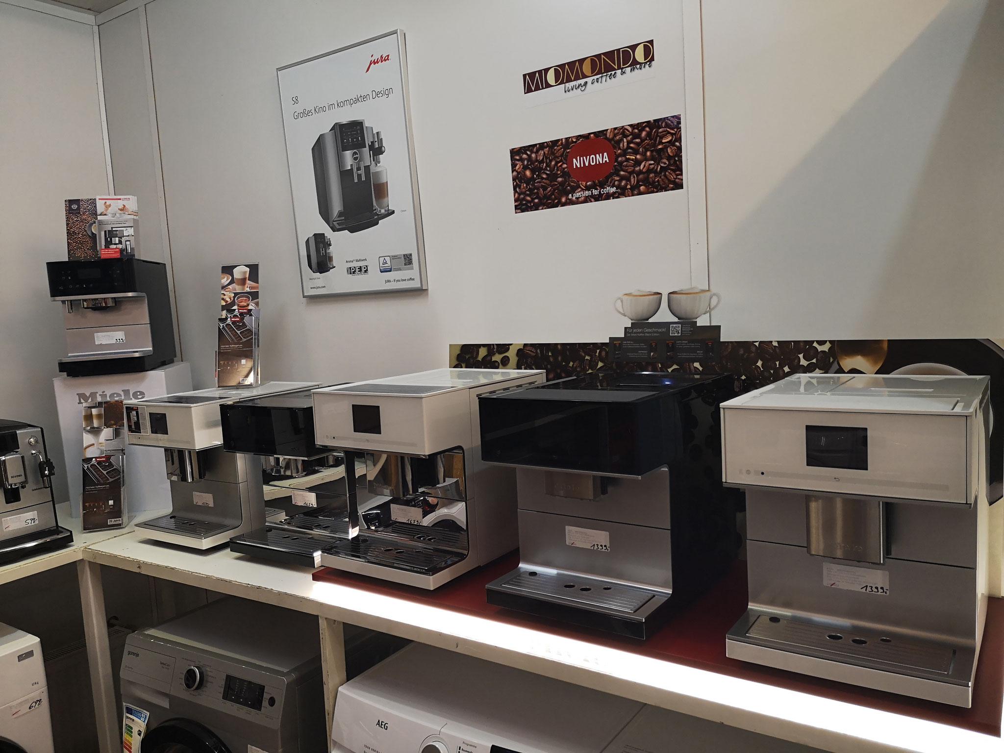 Miele Kaffeevollautomaten bei HGS Elektro in Köln