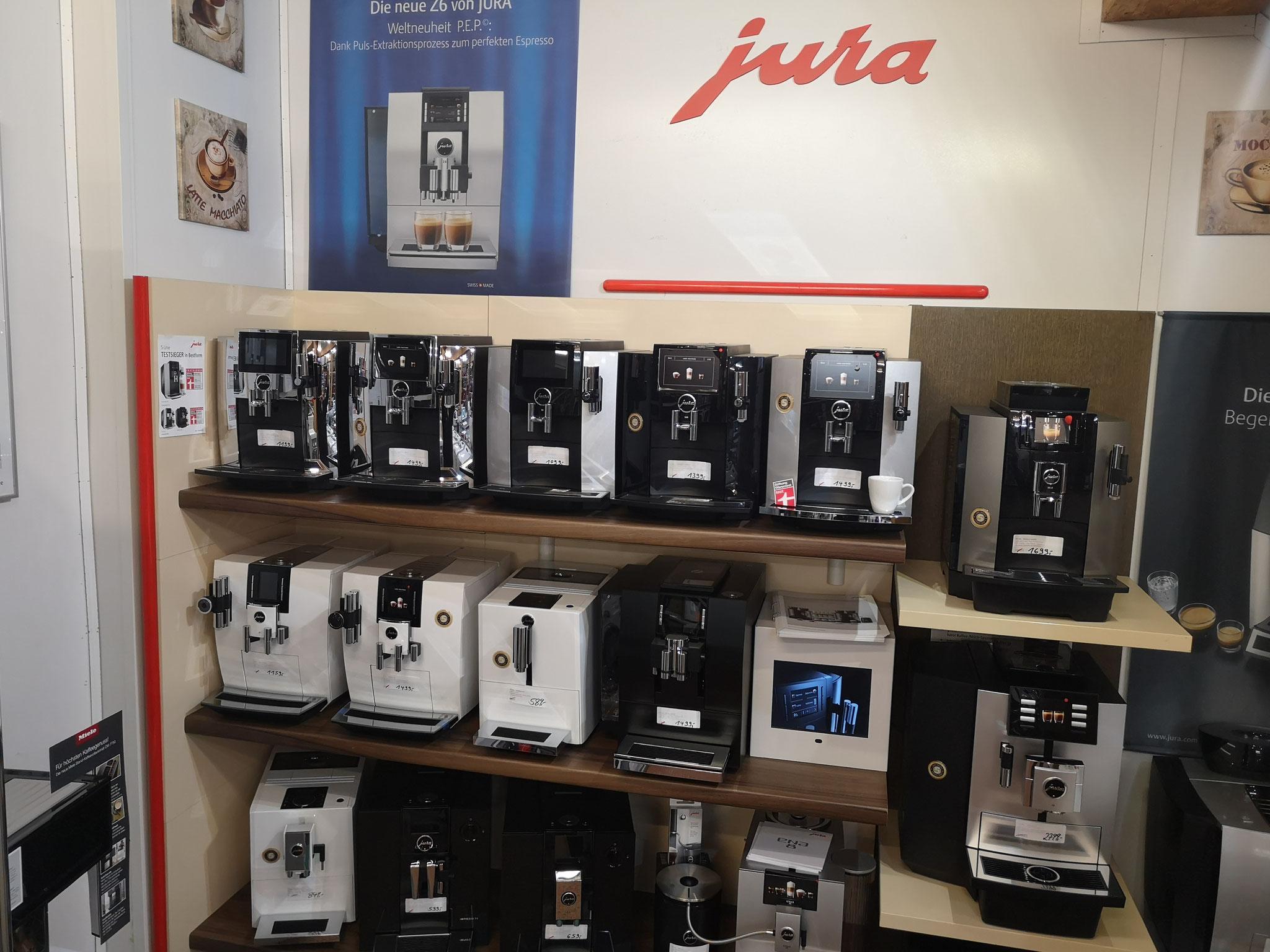 Jura Kaffeevollautomaten bei HGS Elektro in Köln