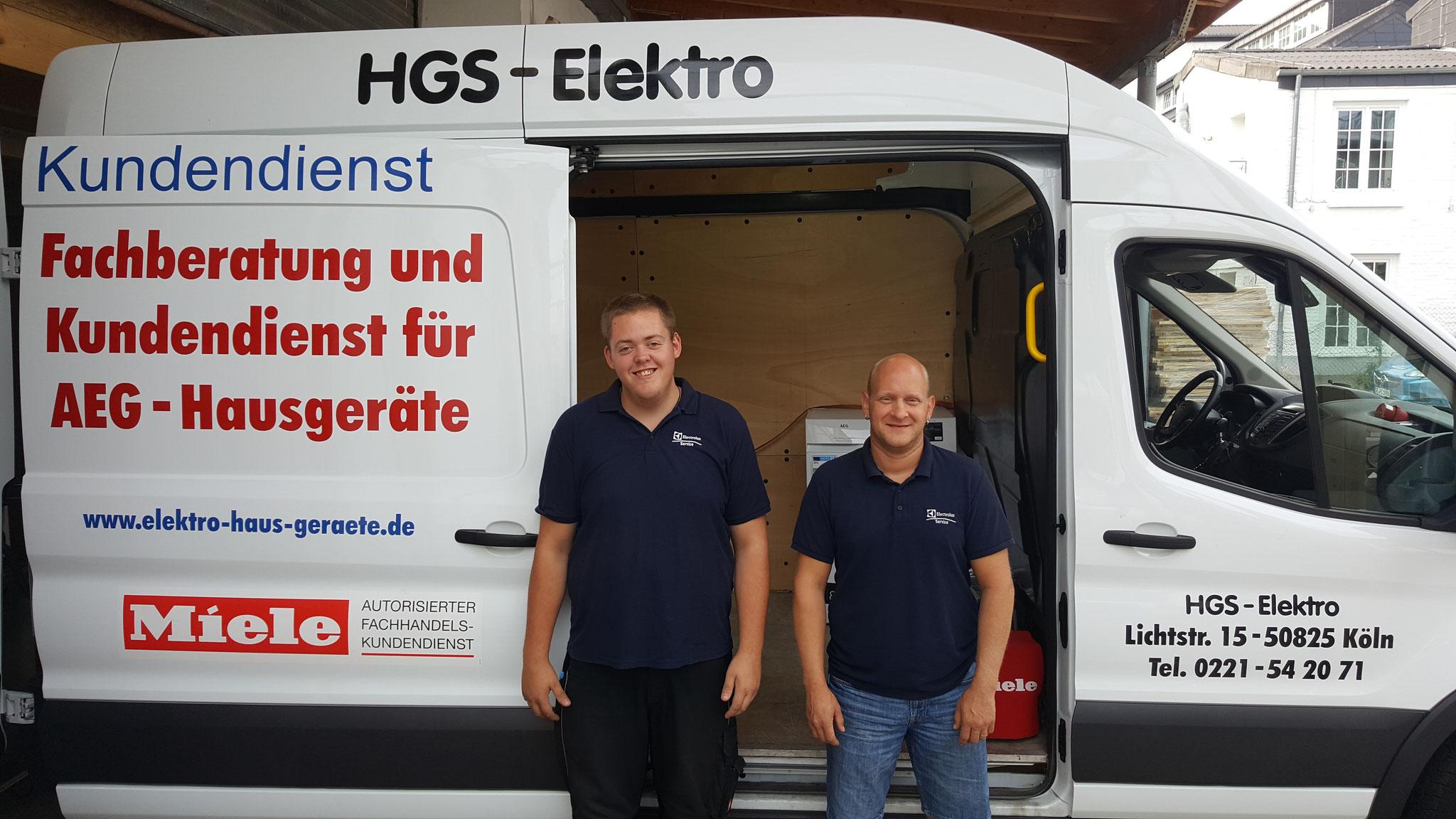 HGS Elektro Lieferung und Montage Service seit 1986 in Köln