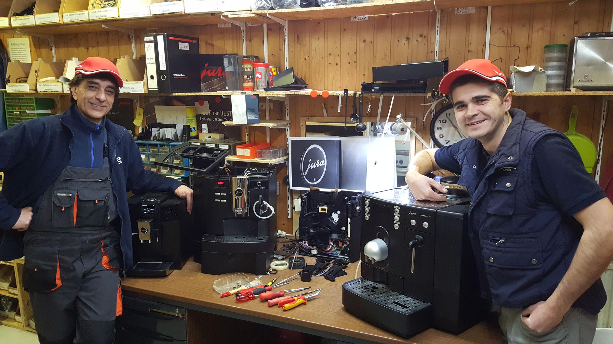 HGS Elektro Kaffeeautomaten Reparatur seit 1986 in Köln