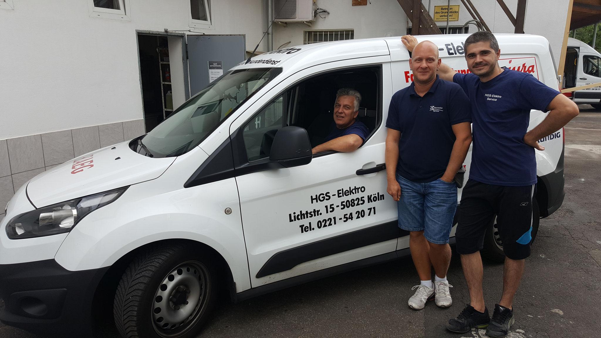 HGS Elektro Liebherr Kundendienst in Köln
