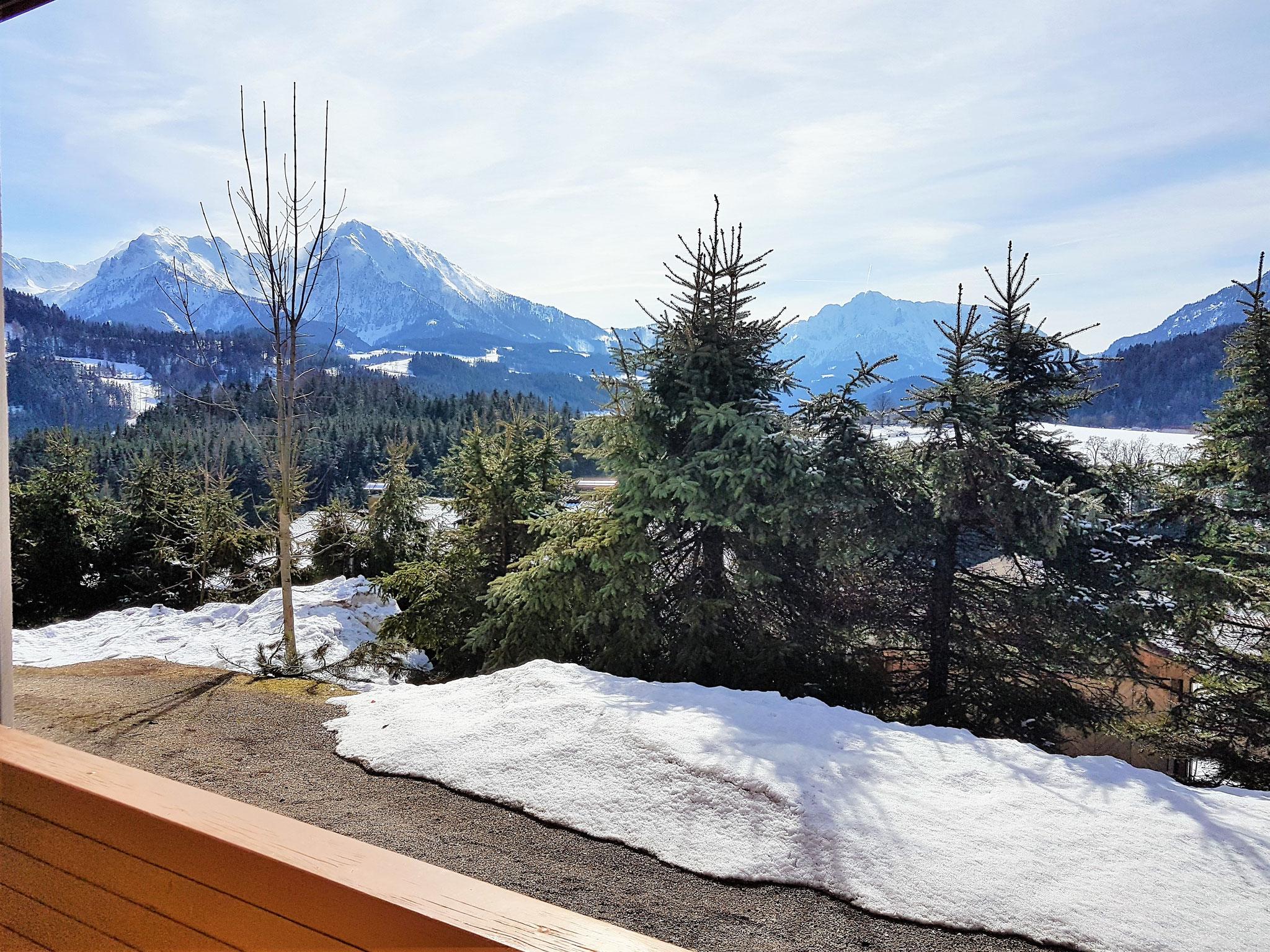Aussicht auf die Berge - Haus Löger Apartments - Windischgarsten