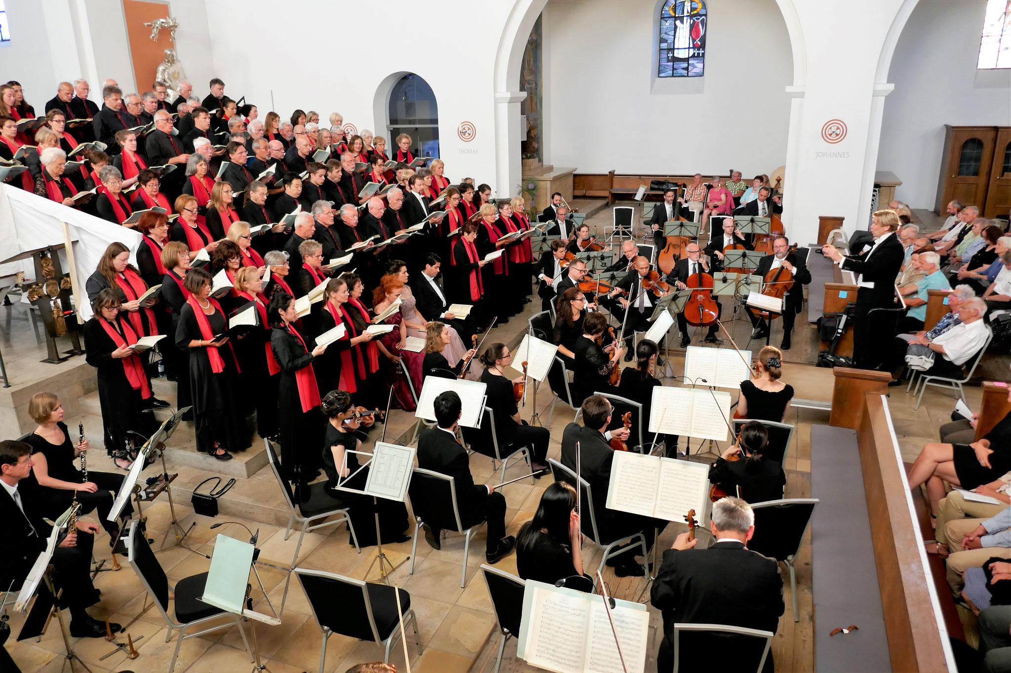 2018 Mozart, Messe in c-Moll, St. Ludwig in Nürnberg