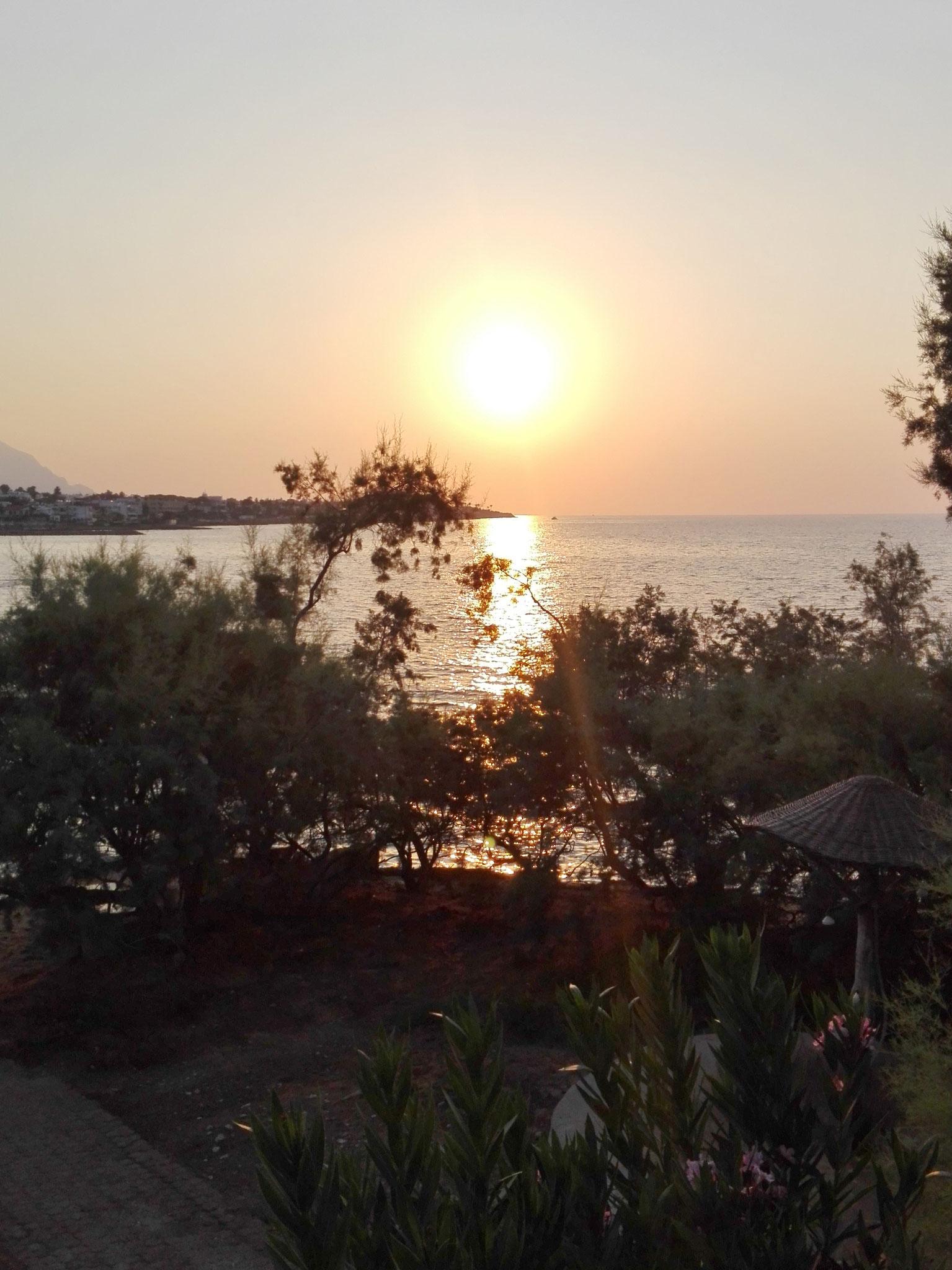 Täglich ein traumhaft schöner Sonnenuntergang