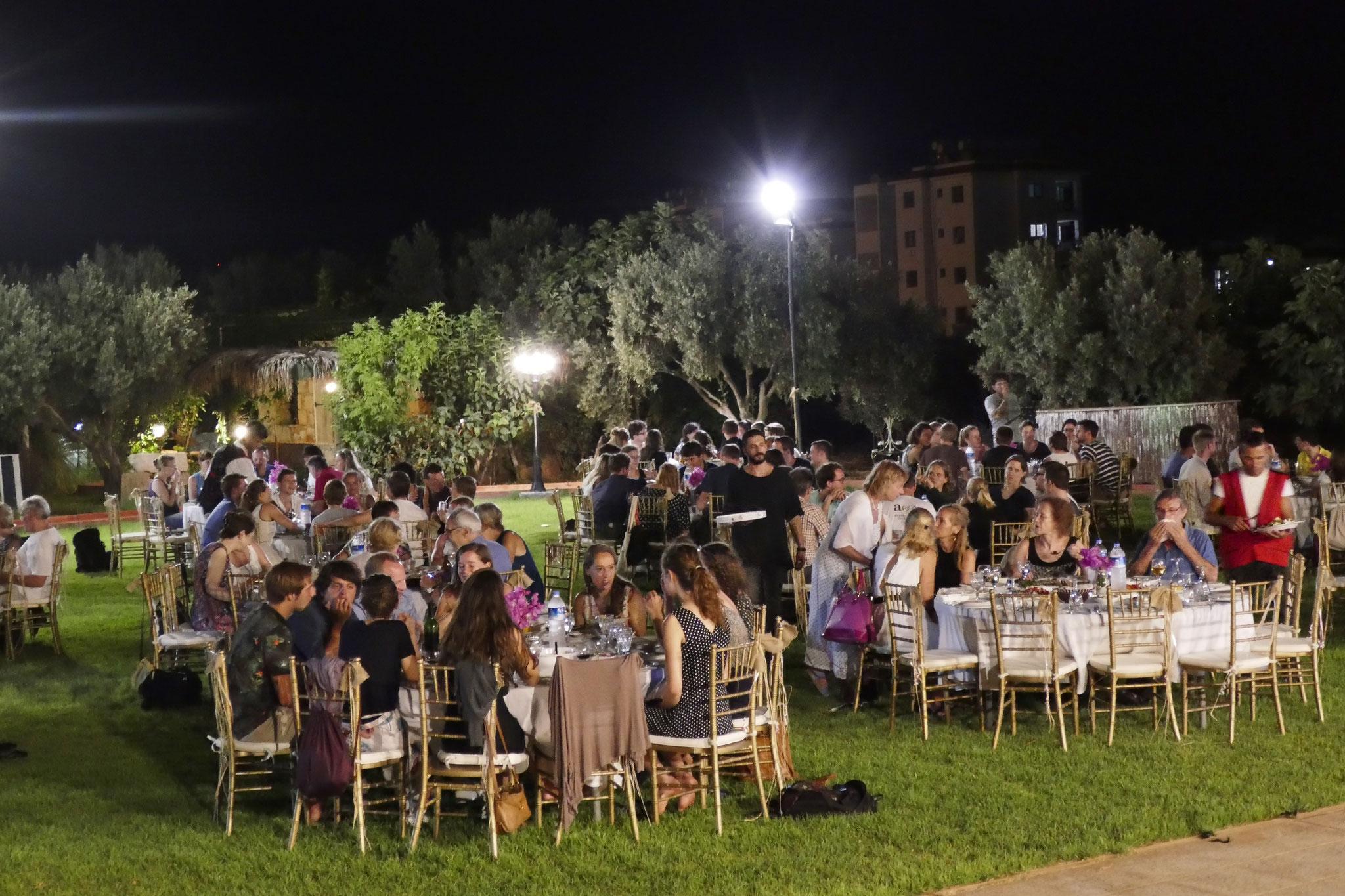 Einladung nach der Generalprobe beim Bürgermeister von Famagusta