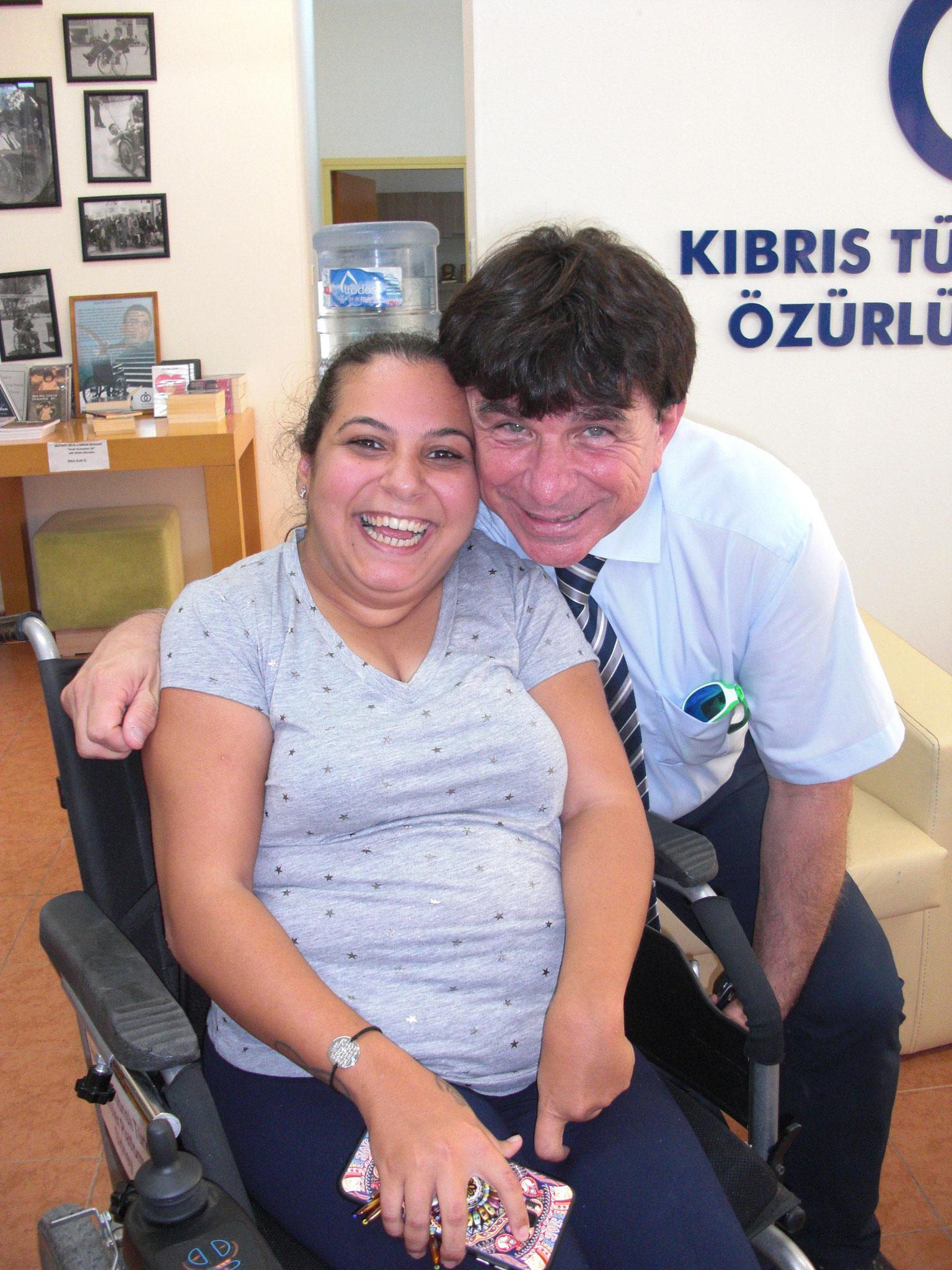 Turgay Hilmi in dem von ihm gegründeten Heim für behinderte Menschen
