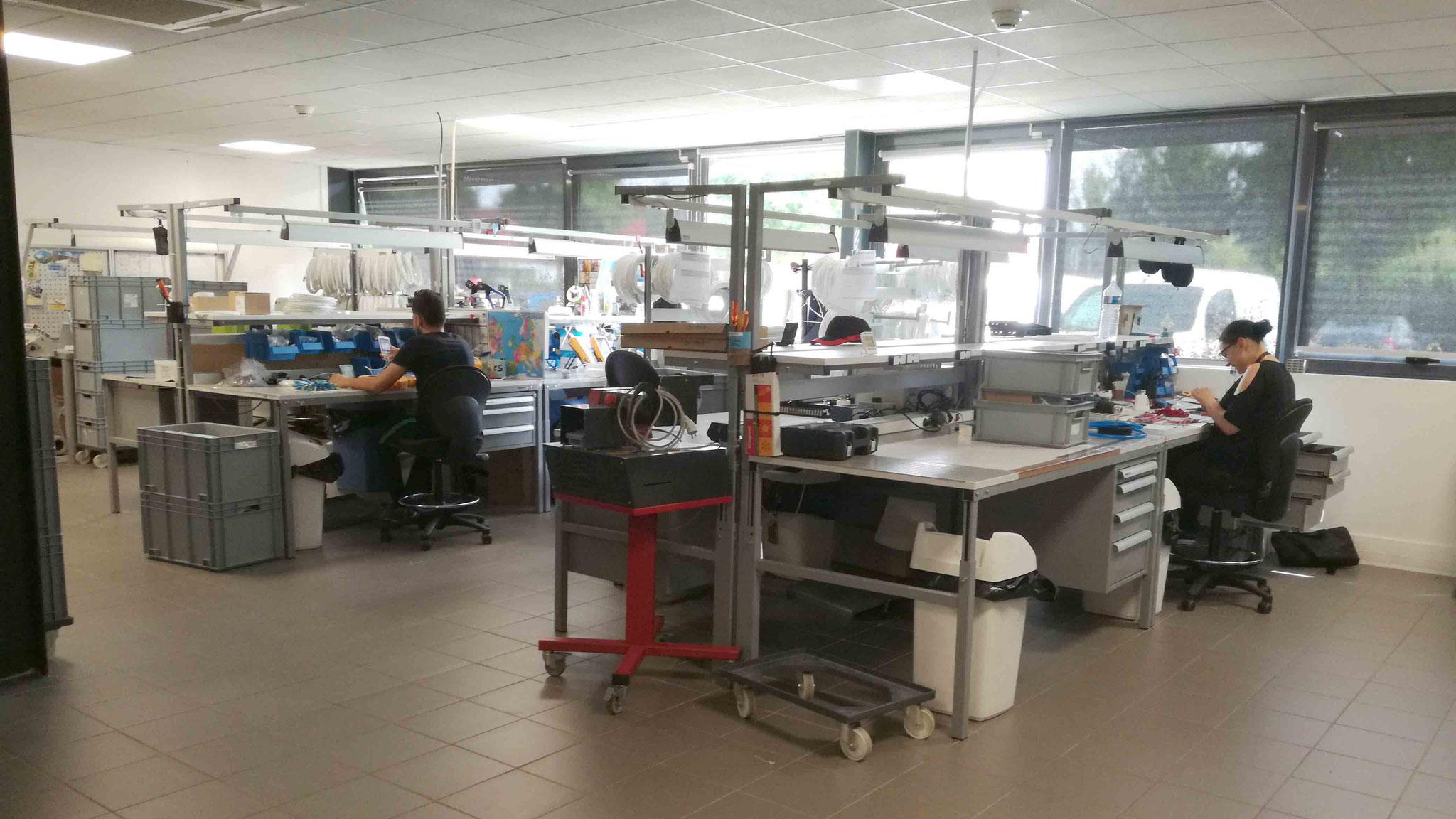 Unité de fabrication FCS