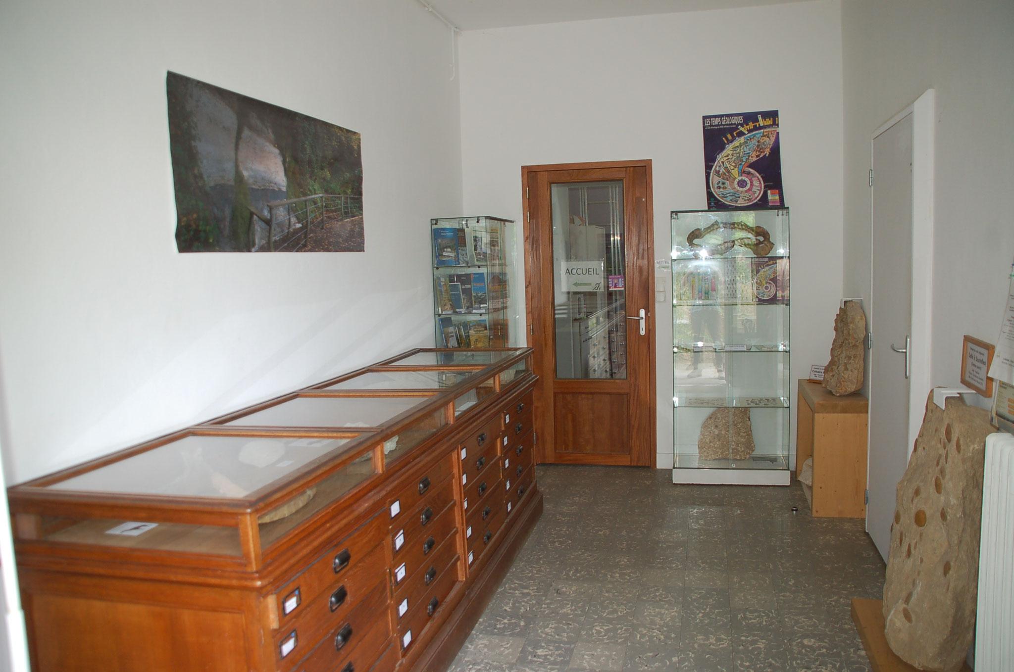L'entrée du musée : salle régionale