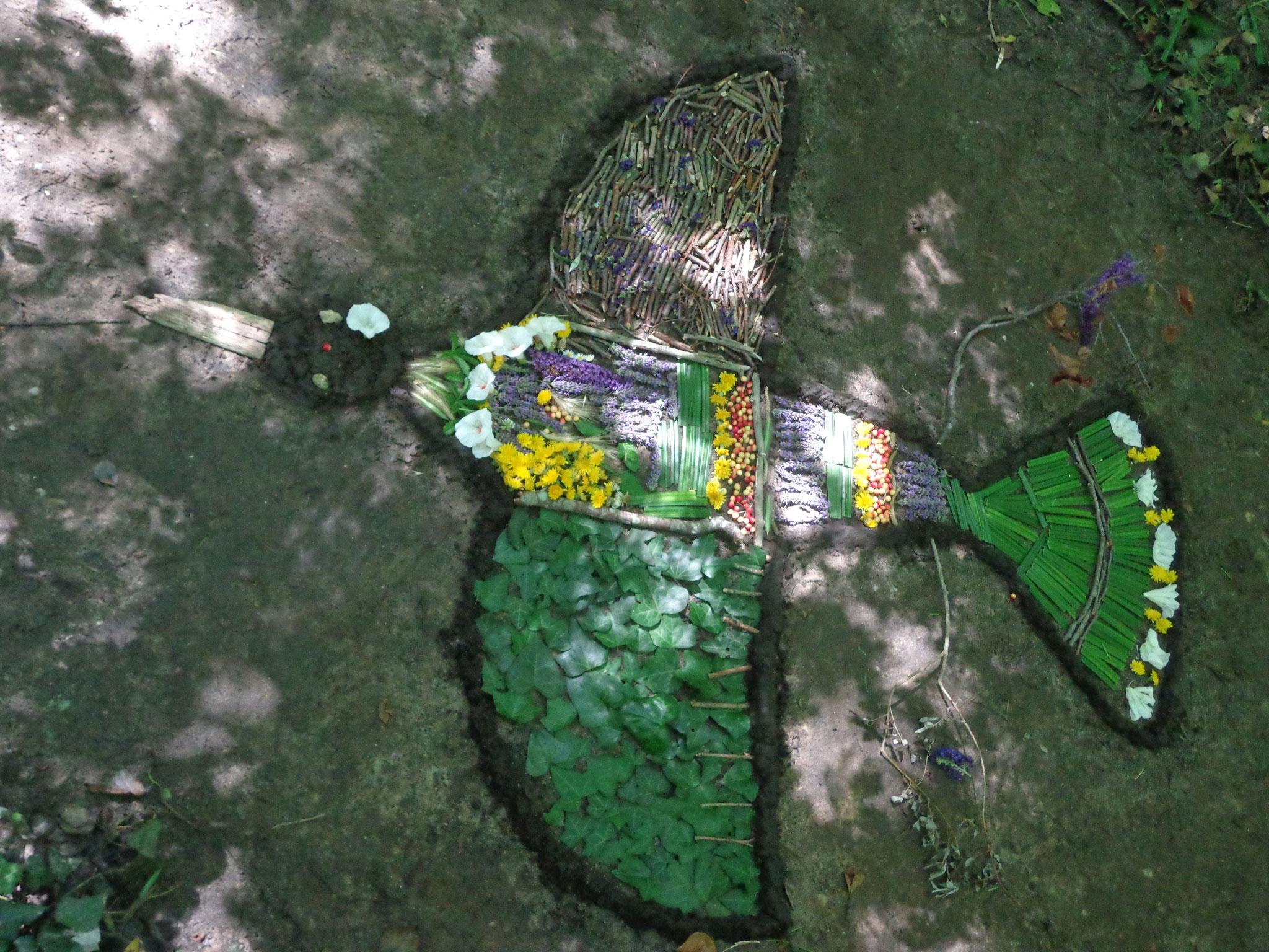 Art et Nature : l'art bio et ephémère