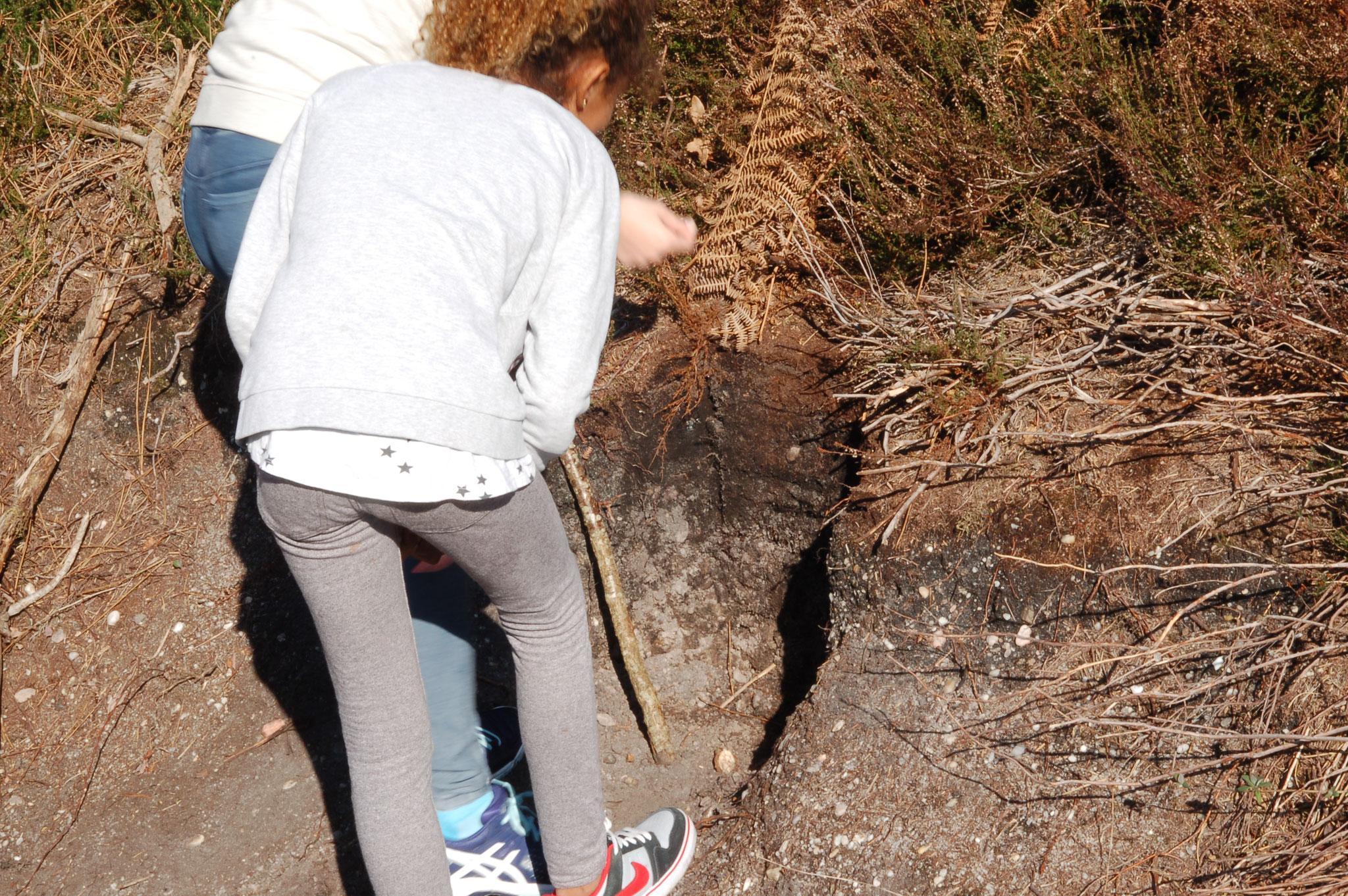 mesure des caractéristiques d'un sol