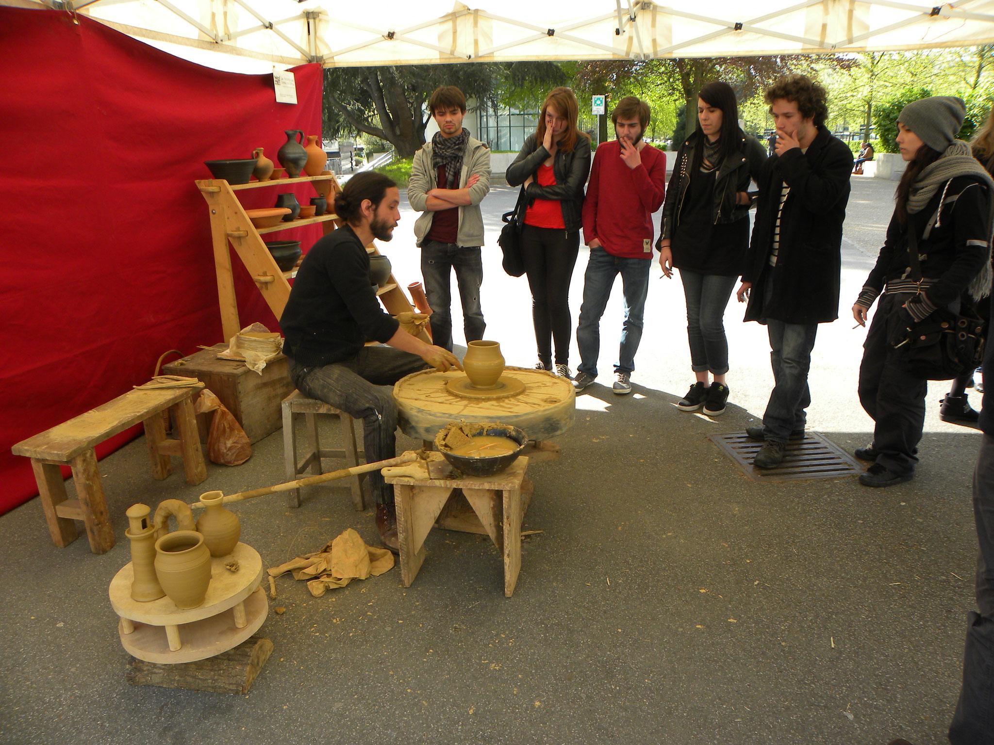 Journée de la céramique, Université Rennes 2, 19 avril 2014